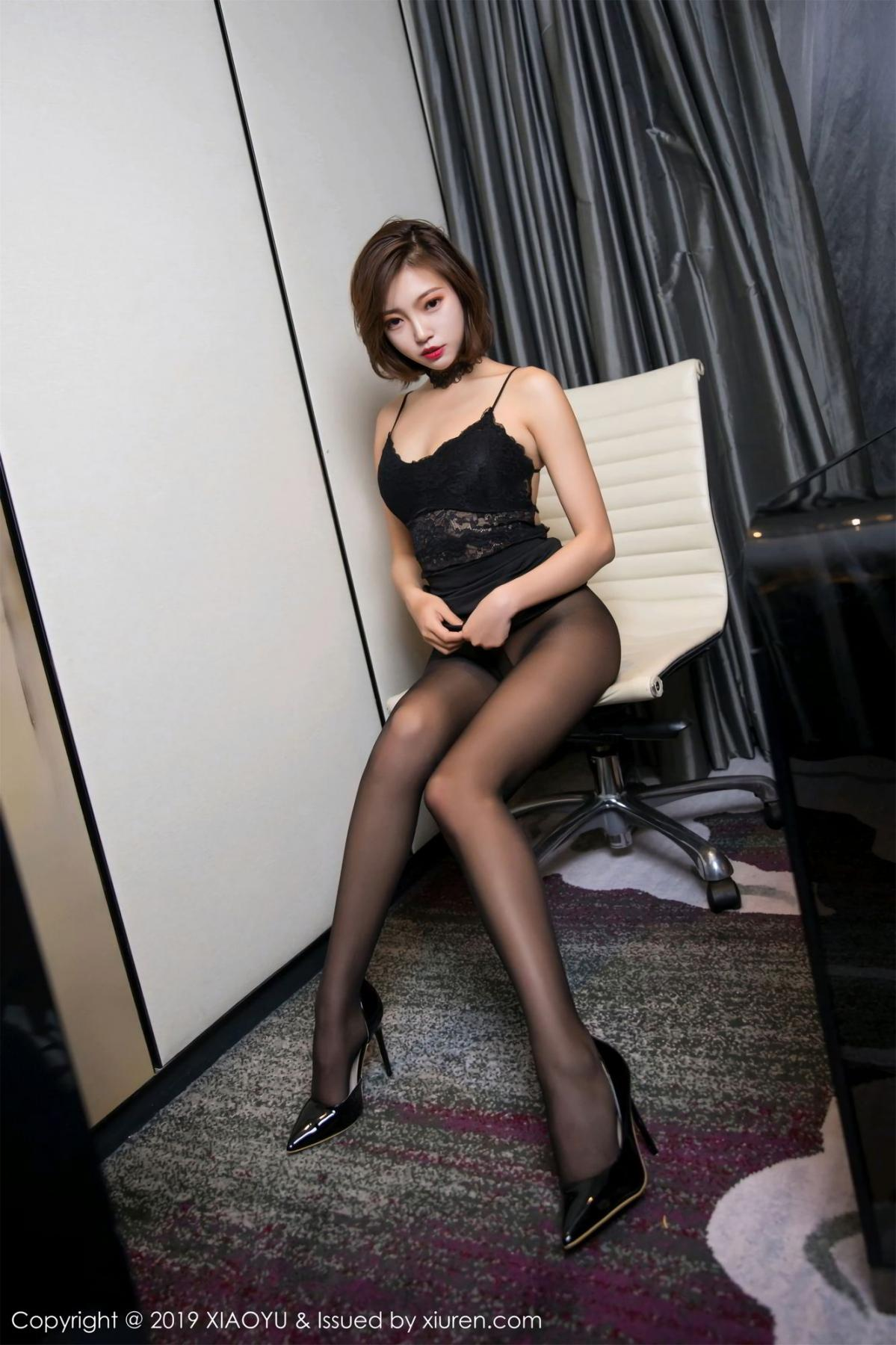[XiaoYu] Vol.065 Lris 26P, Black Silk, Cool, Feng Mu Mu, Tall, XiaoYu