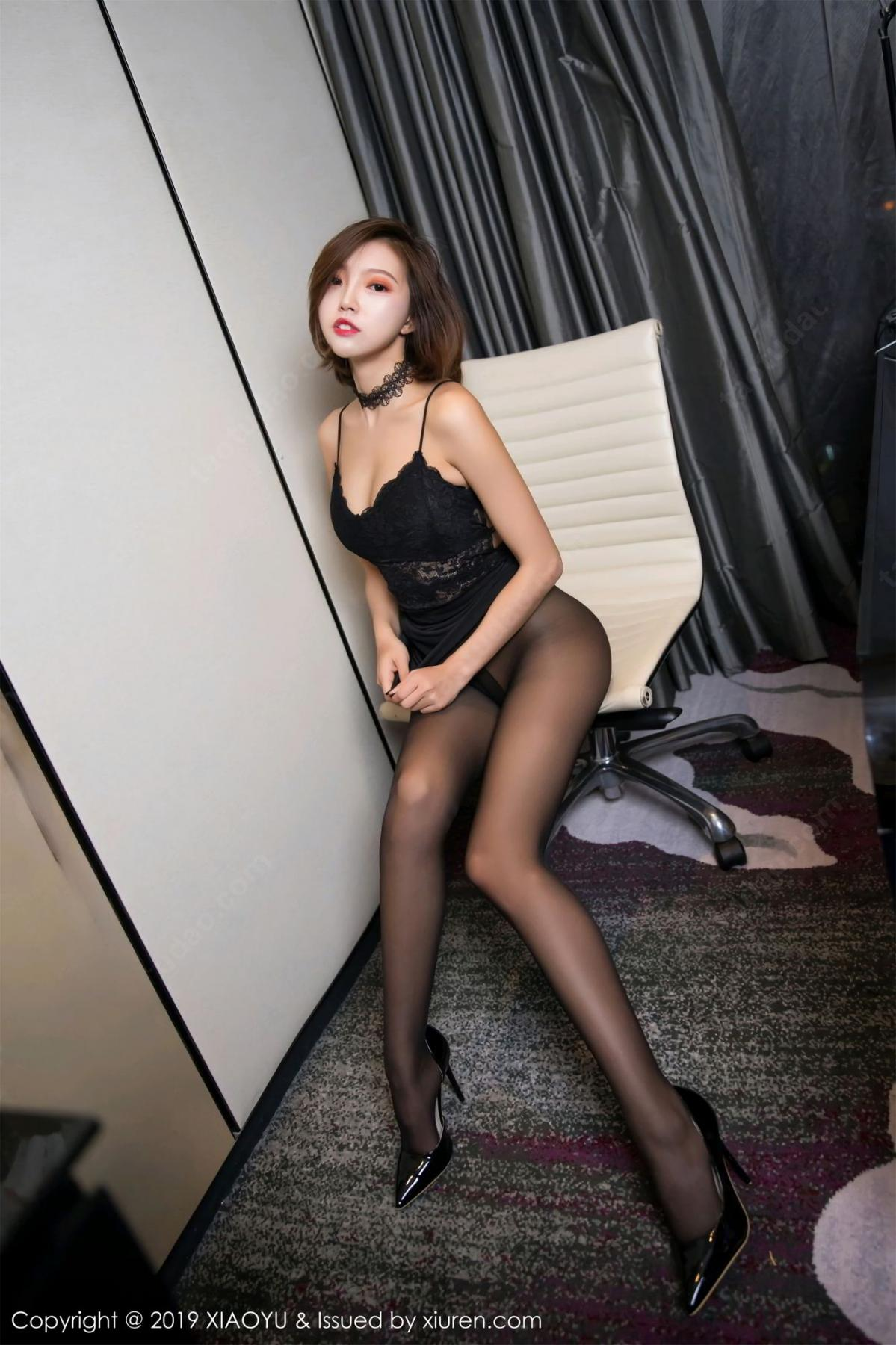 [XiaoYu] Vol.065 Lris 27P, Black Silk, Cool, Feng Mu Mu, Tall, XiaoYu