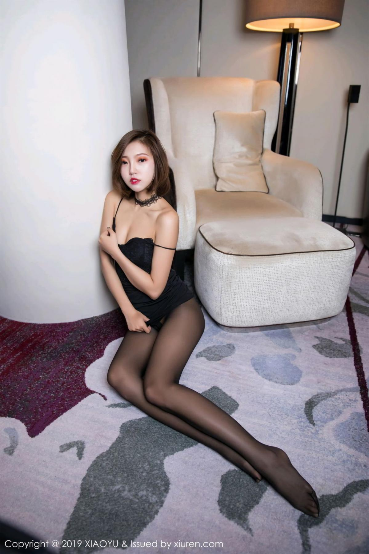 [XiaoYu] Vol.065 Lris 58P, Black Silk, Cool, Feng Mu Mu, Tall, XiaoYu