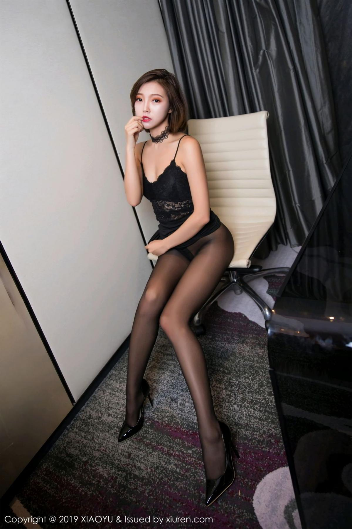 [XiaoYu] Vol.065 Lris 60P, Black Silk, Cool, Feng Mu Mu, Tall, XiaoYu
