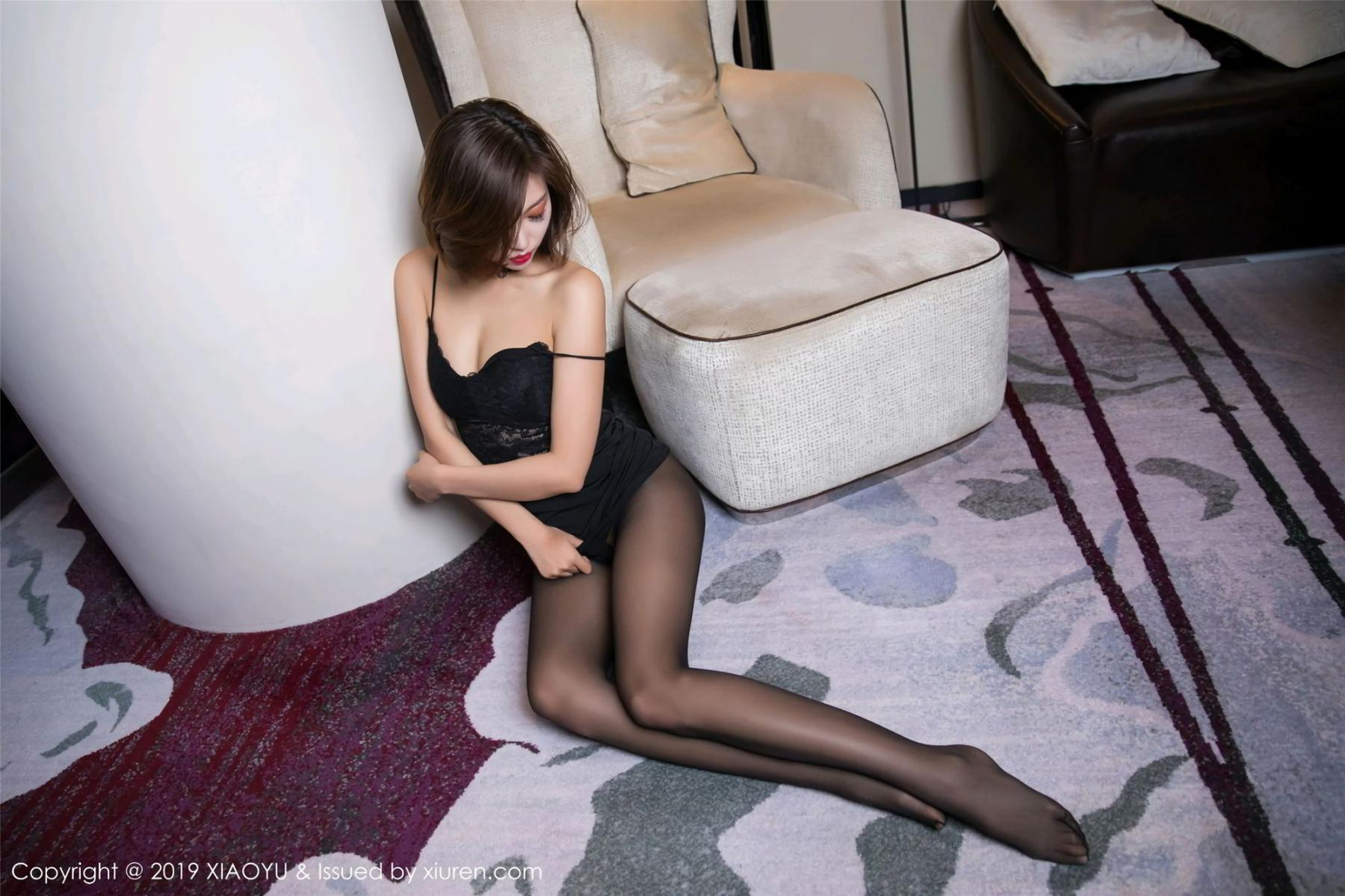 [XiaoYu] Vol.065 Lris 62P, Black Silk, Cool, Feng Mu Mu, Tall, XiaoYu