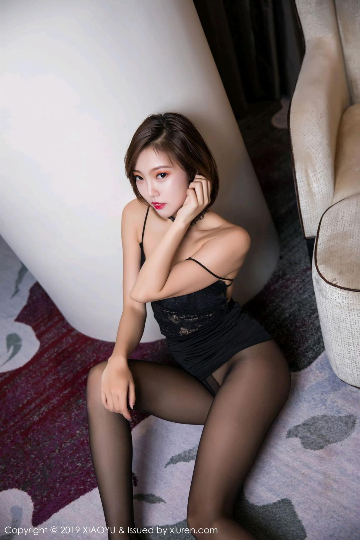 [XiaoYu] Vol.065 Lris 66P, Black Silk, Cool, Feng Mu Mu, Tall, XiaoYu