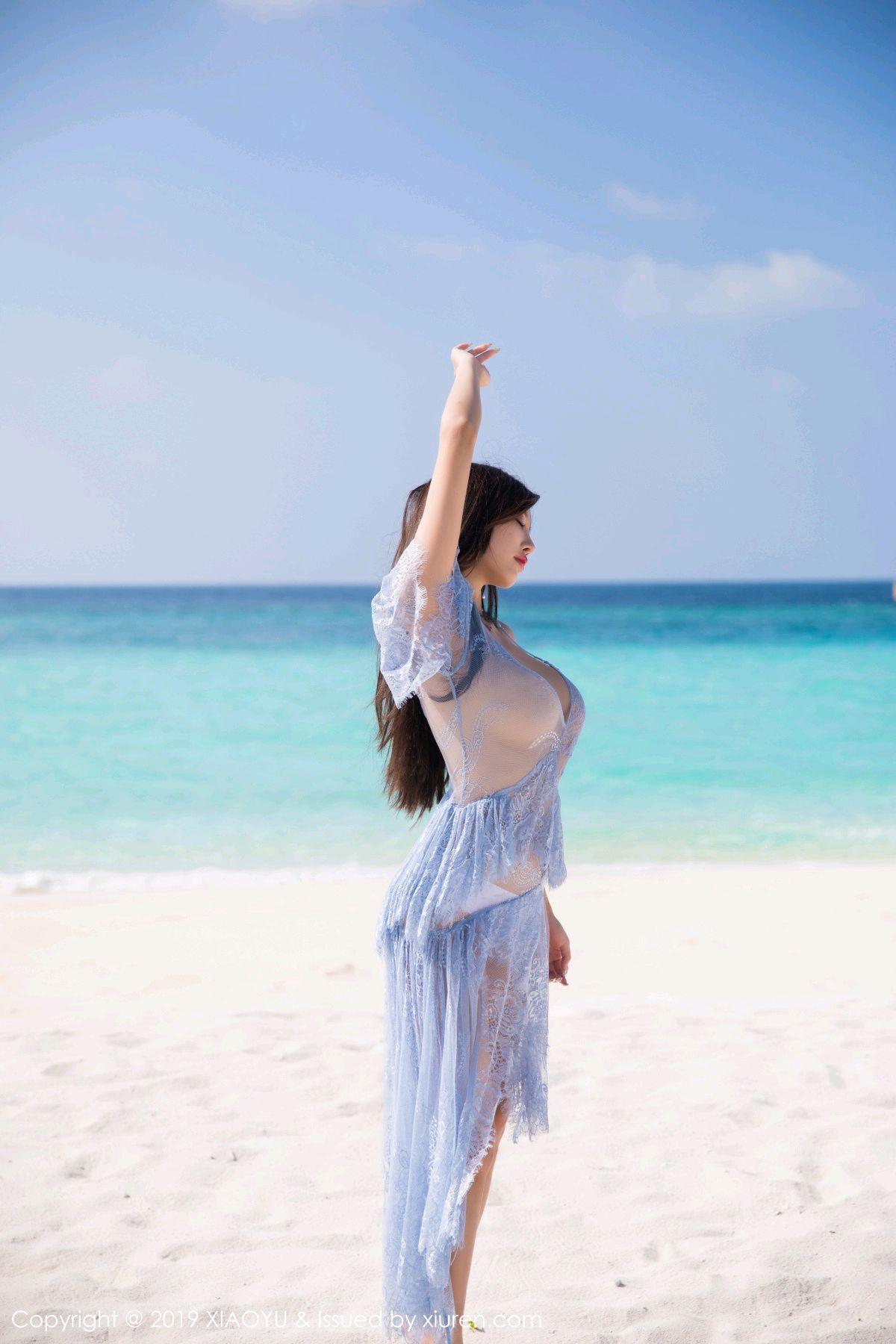 [XiaoYu] Vol.067 Yang Chen Chen 50P, Beach, Underwear, XiaoYu, Yang Chen Chen