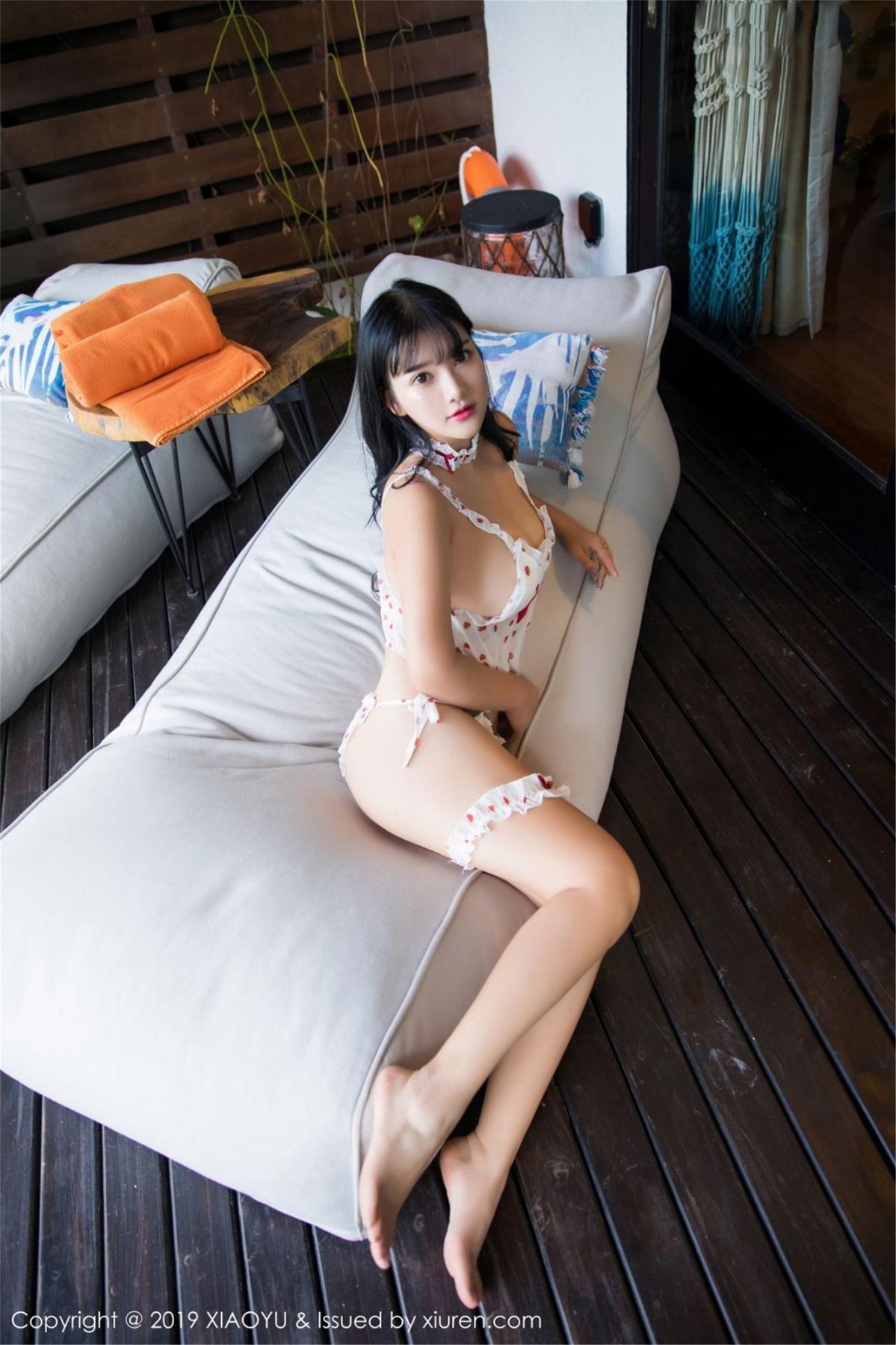 [XiaoYu] Vol.070 Lu Lu Xiao Miao 24P, Baby Face Big Boobs, Lovely, Lu Lu Xiao Miao, XiaoYu
