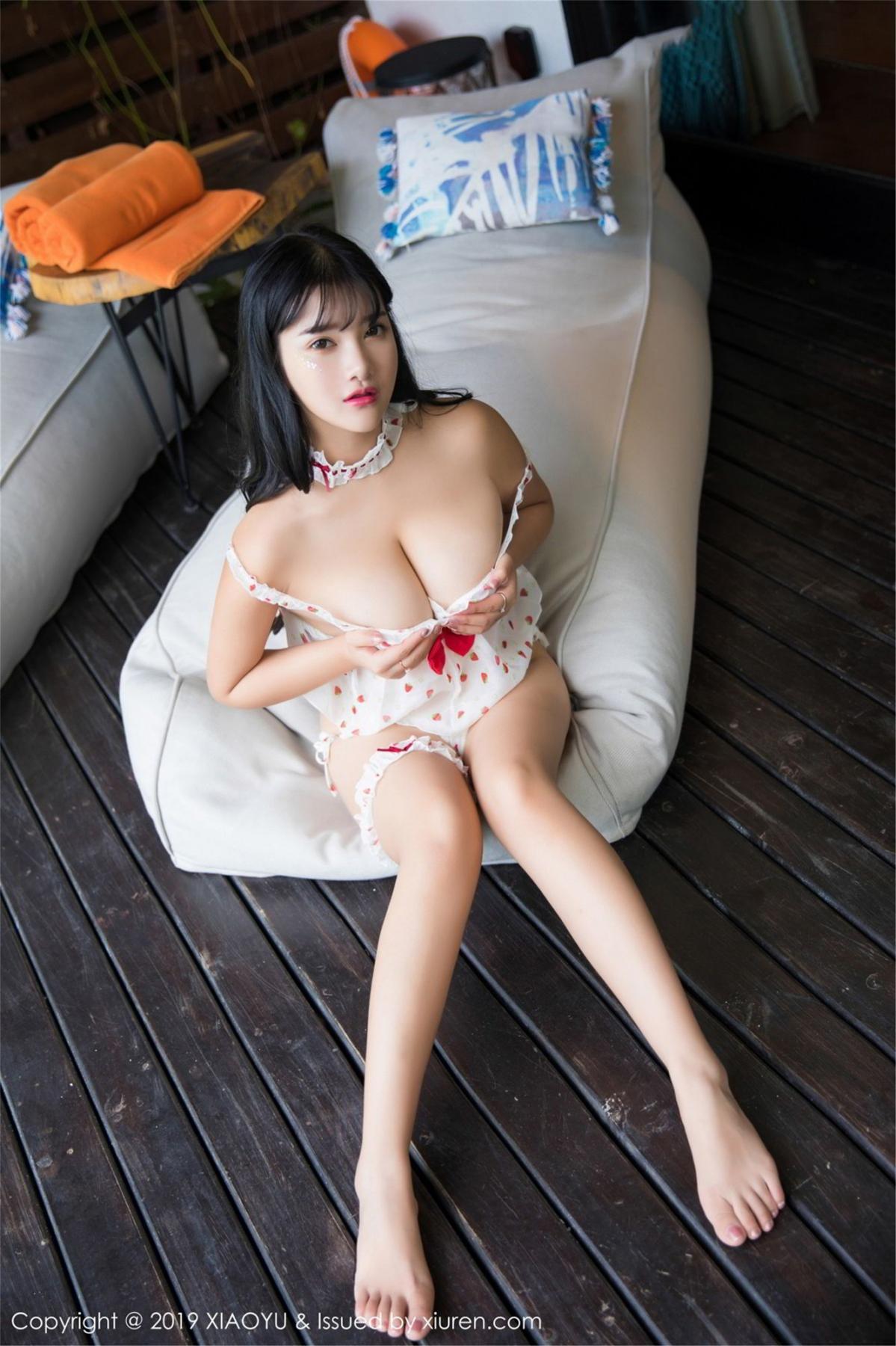 [XiaoYu] Vol.070 Lu Lu Xiao Miao 27P, Baby Face Big Boobs, Lovely, Lu Lu Xiao Miao, XiaoYu
