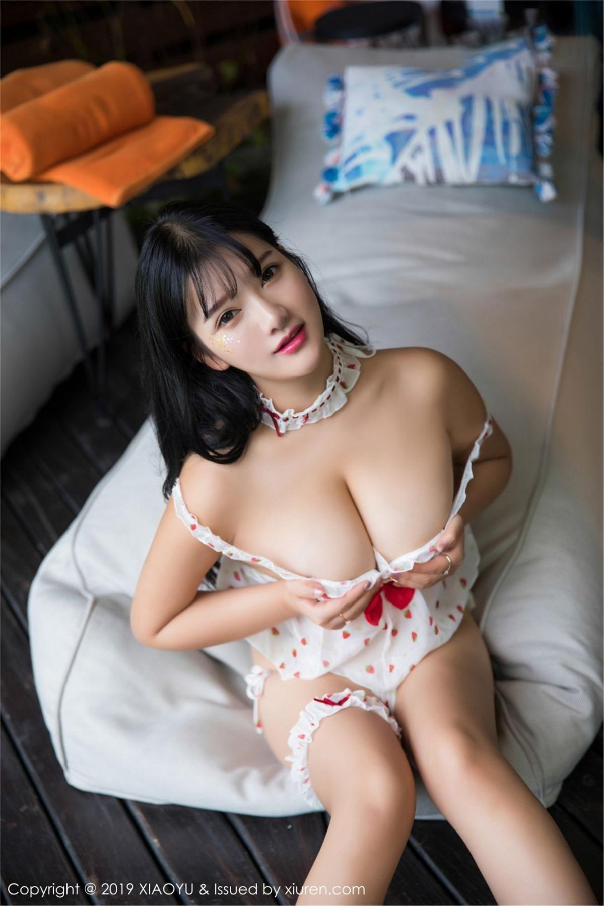[XiaoYu] Vol.070 Lu Lu Xiao Miao 28P, Baby Face Big Boobs, Lovely, Lu Lu Xiao Miao, XiaoYu