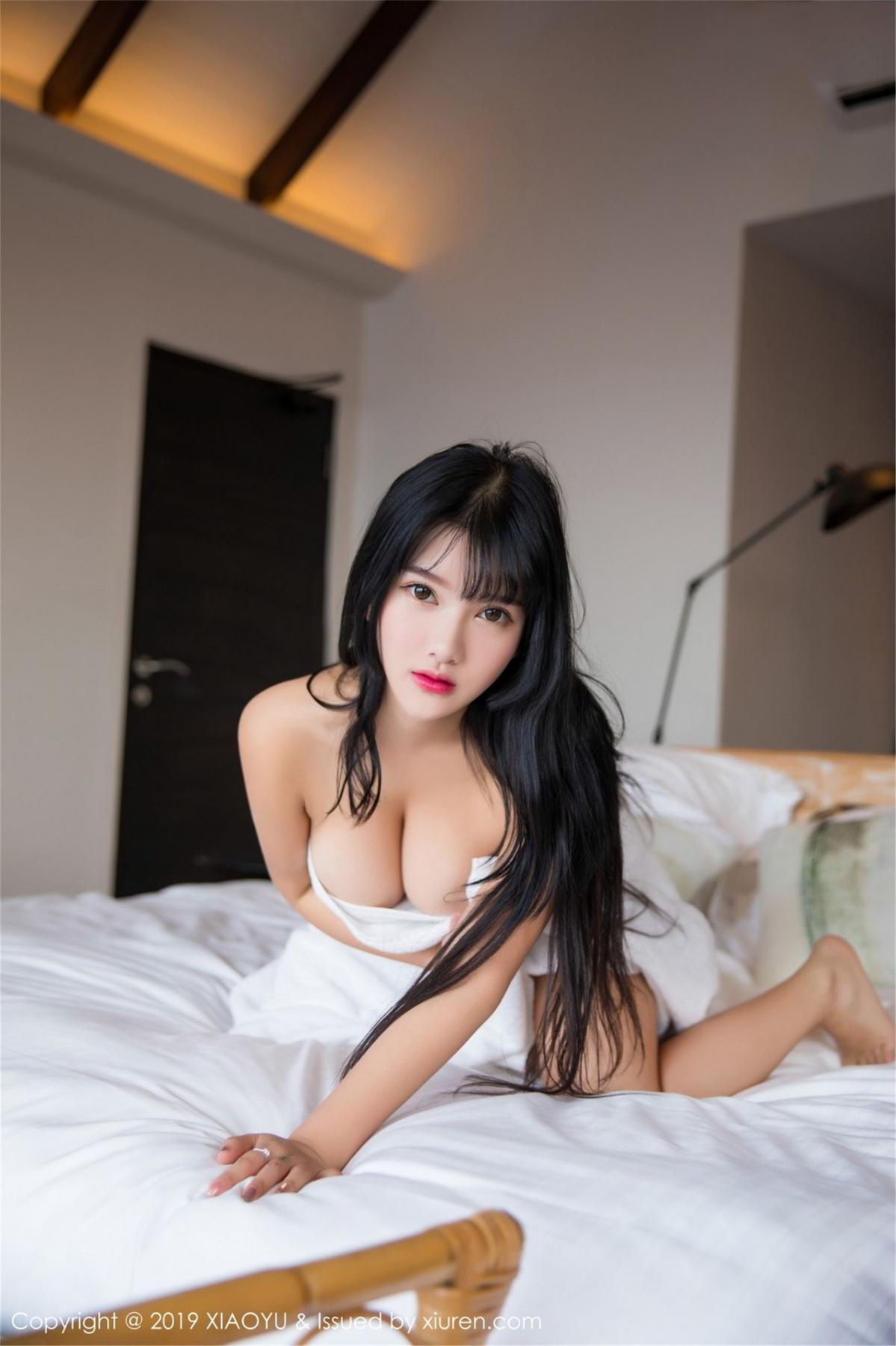 [XiaoYu] Vol.070 Lu Lu Xiao Miao 4P, Baby Face Big Boobs, Lovely, Lu Lu Xiao Miao, XiaoYu