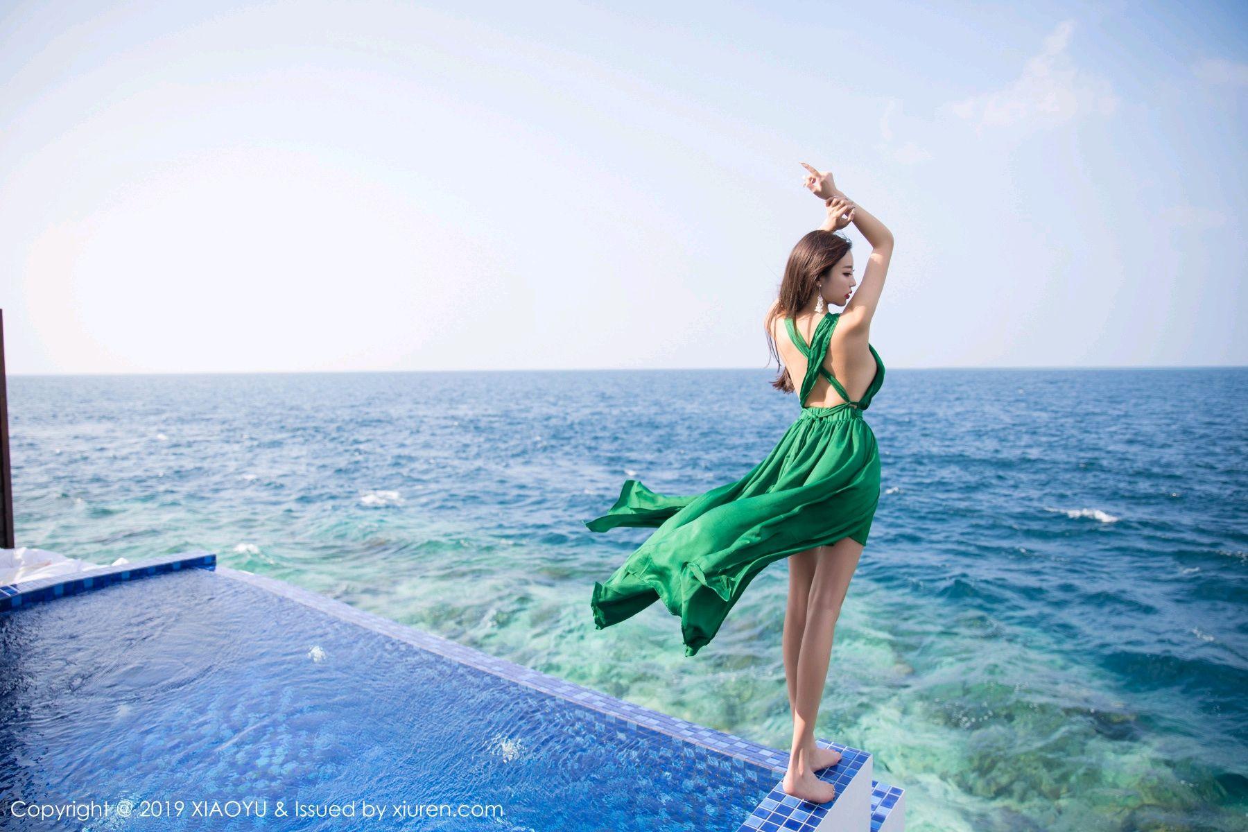 [XiaoYu] Vol.072 sugar 14P, Bikini, Swim Pool, XiaoYu, Yang Chen Chen