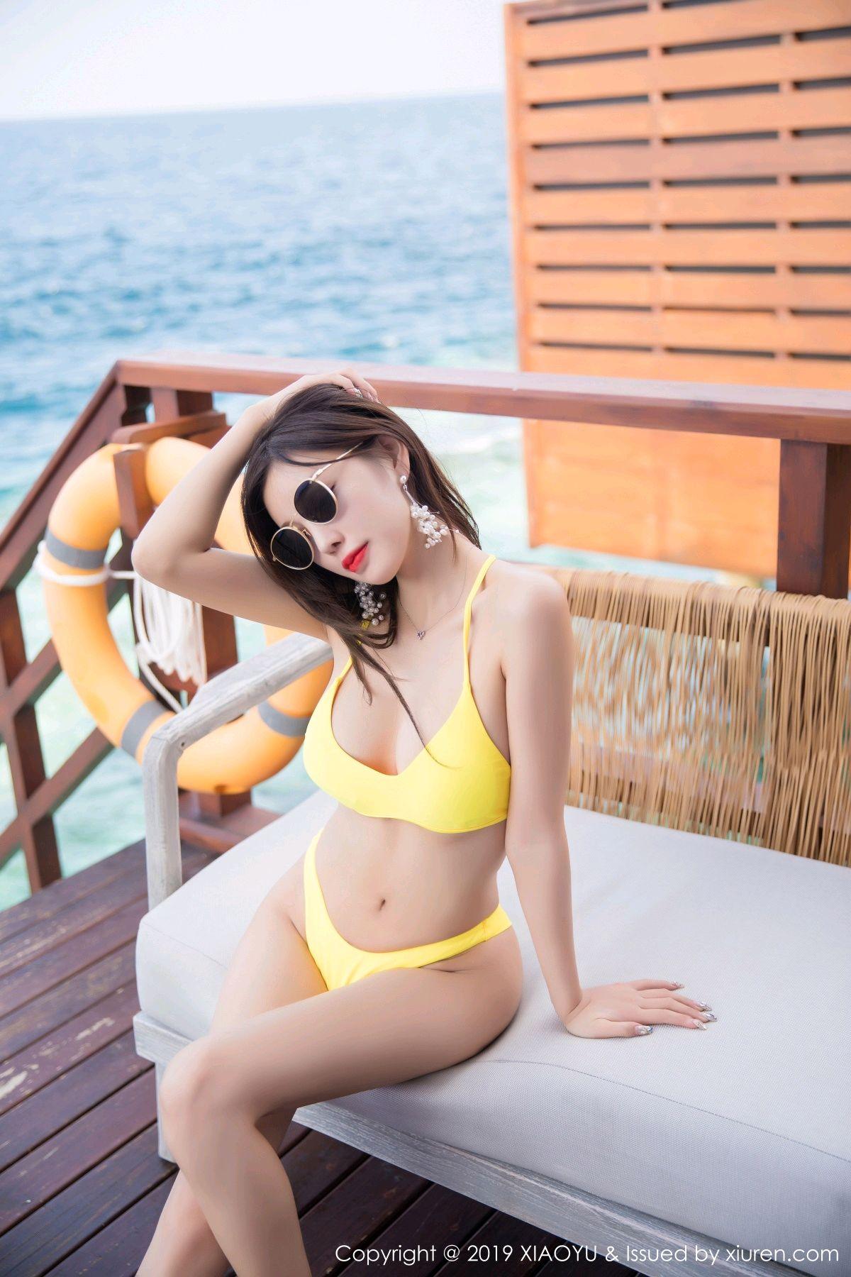 [XiaoYu] Vol.072 sugar 19P, Bikini, Swim Pool, XiaoYu, Yang Chen Chen