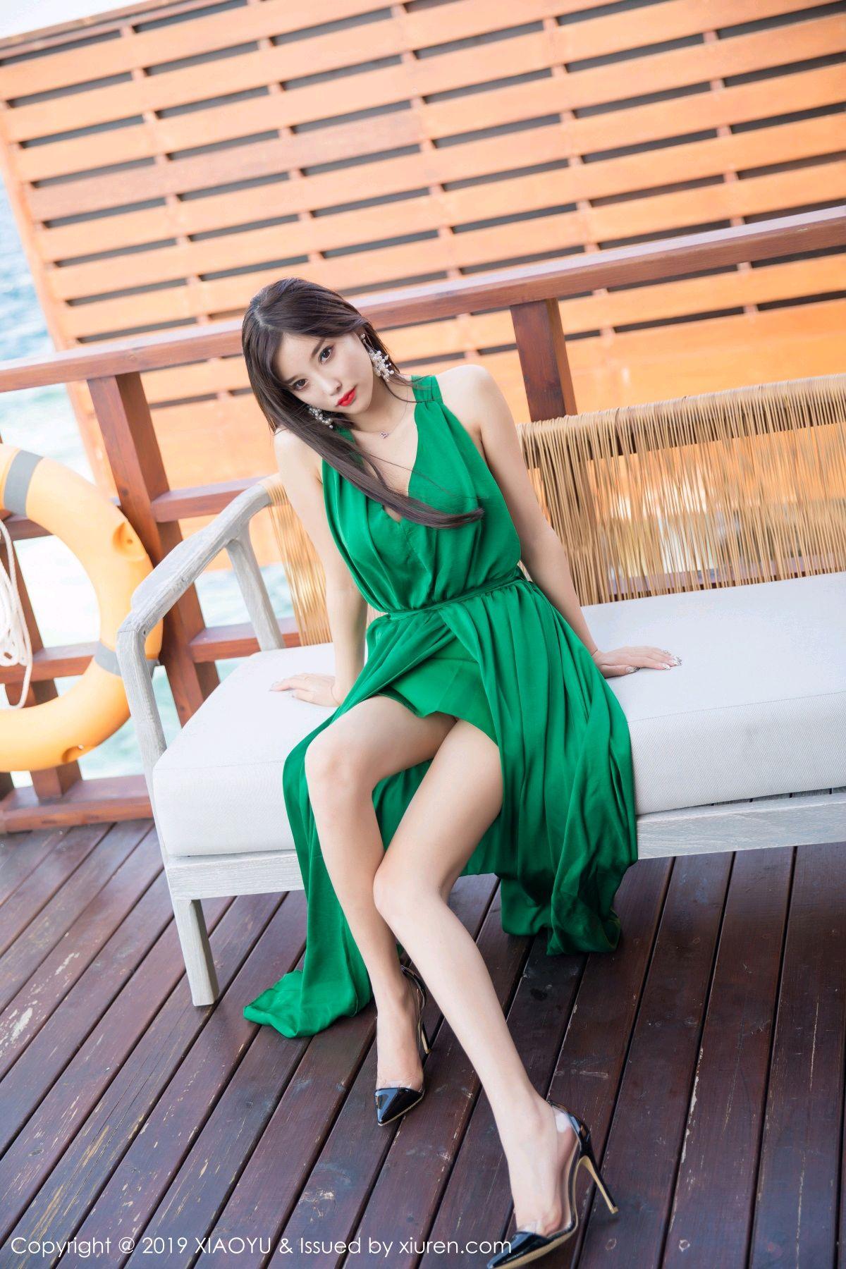 [XiaoYu] Vol.072 sugar 1P, Bikini, Swim Pool, XiaoYu, Yang Chen Chen