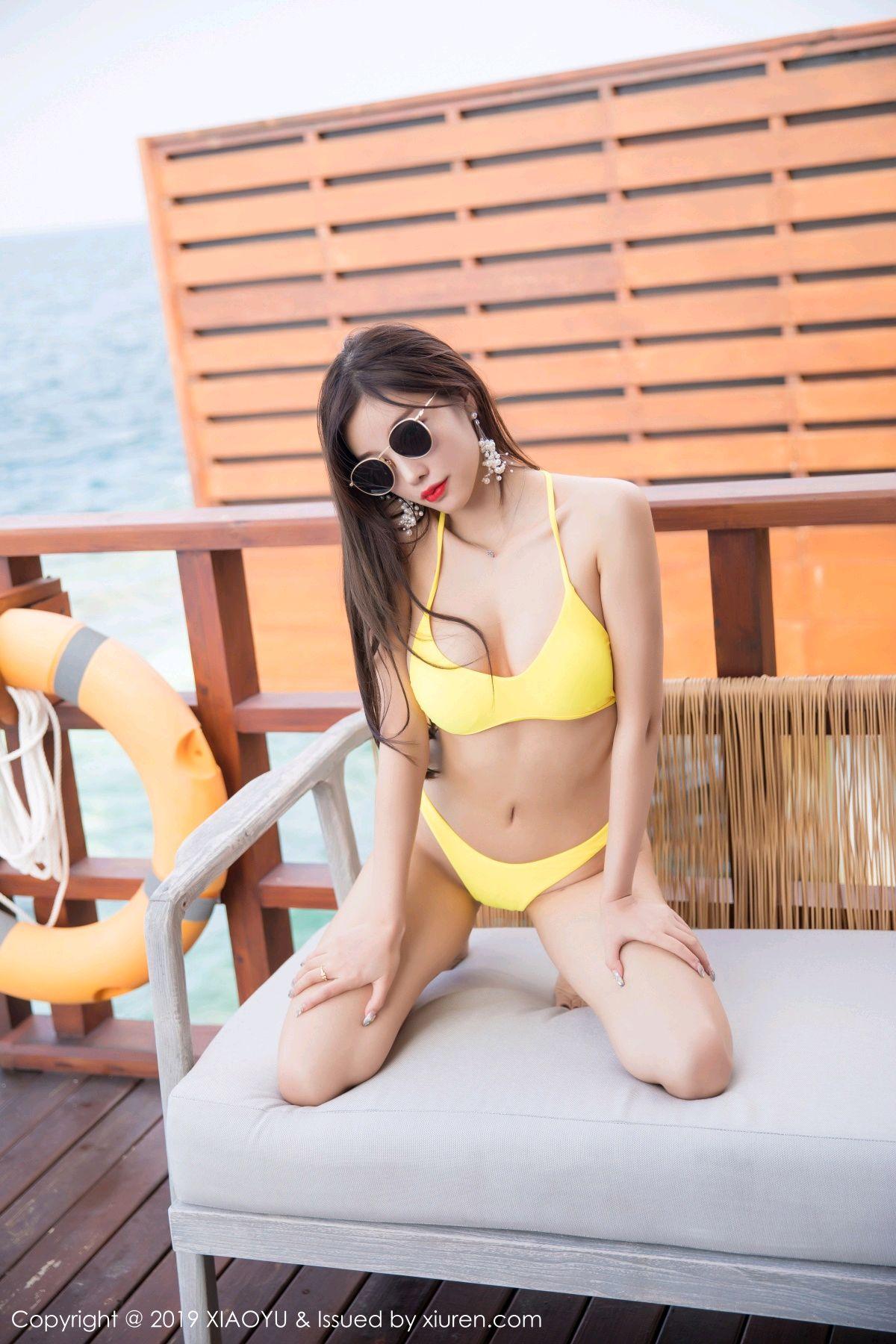 [XiaoYu] Vol.072 sugar 20P, Bikini, Swim Pool, XiaoYu, Yang Chen Chen