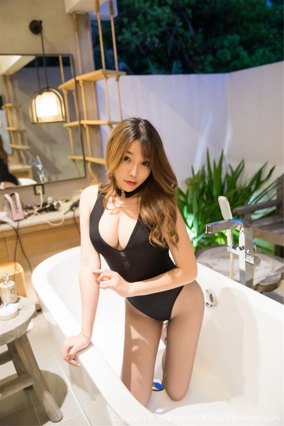 [XiaoYu] Vol.073 Chen Zhi 31P, Black Silk, Chen Zhi, Tall, XiaoYu