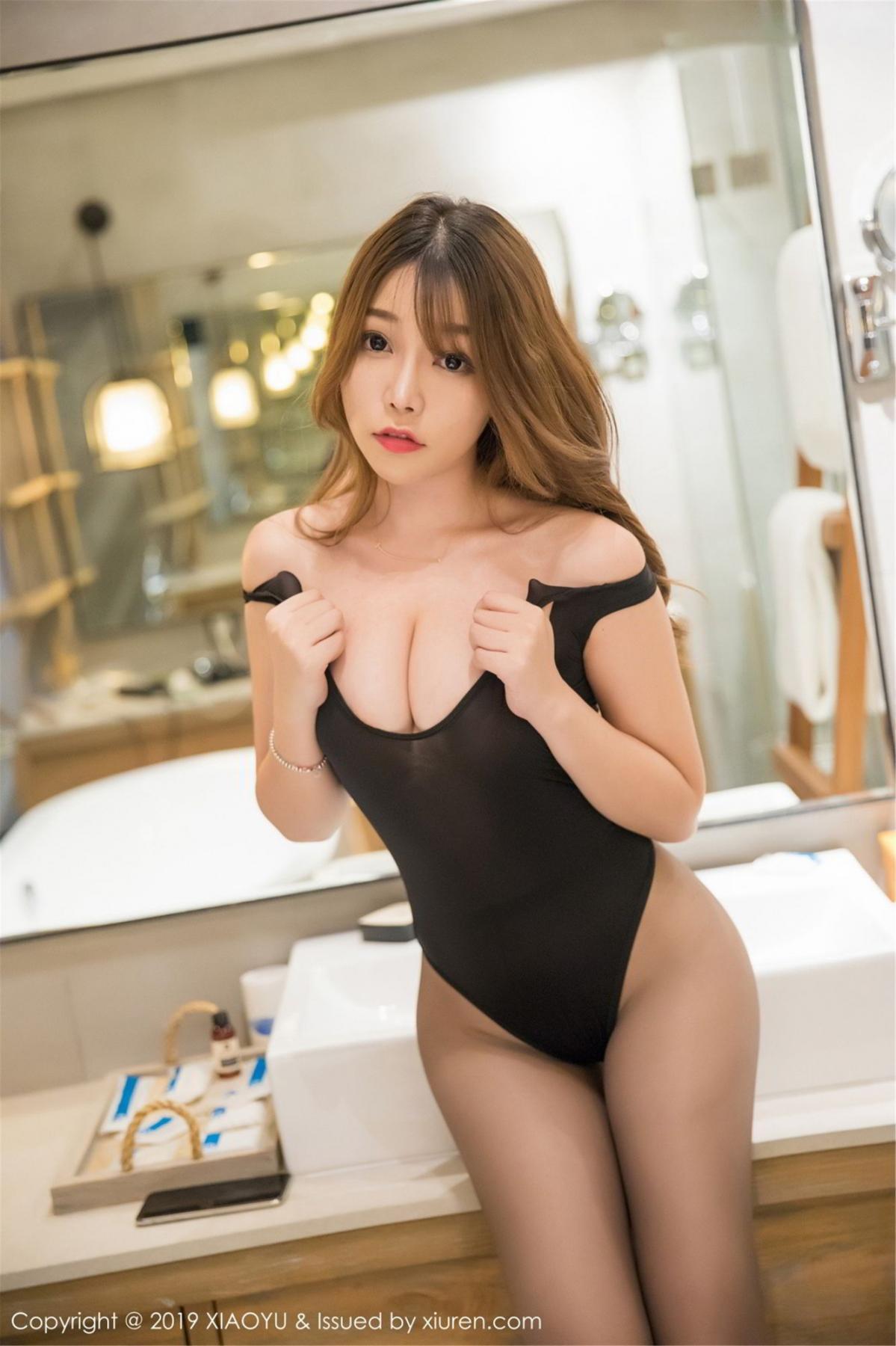[XiaoYu] Vol.073 Chen Zhi 37P, Black Silk, Chen Zhi, Tall, XiaoYu