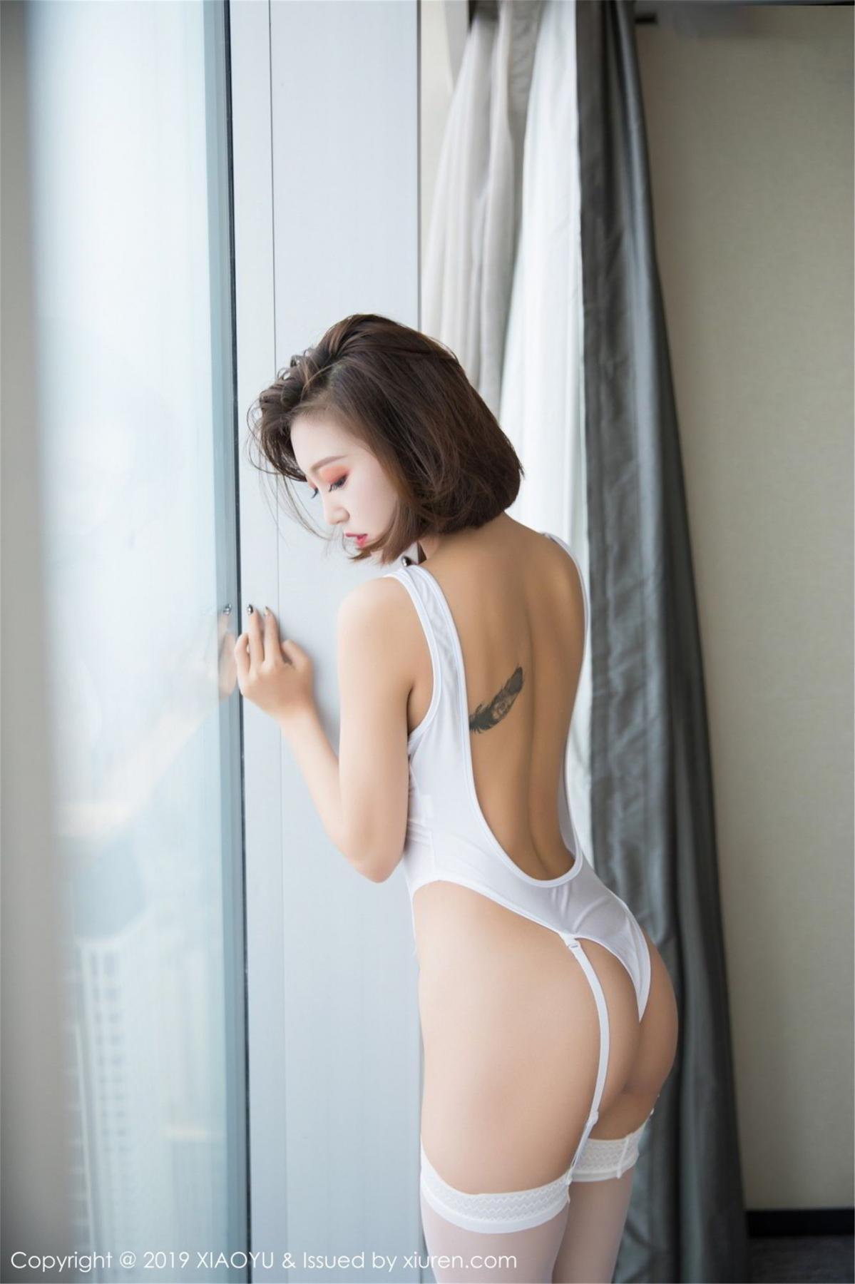 [XiaoYu] Vol.075 Feng Mu Mu 46P, Cool, Feng Mu Mu, Tall, XiaoYu