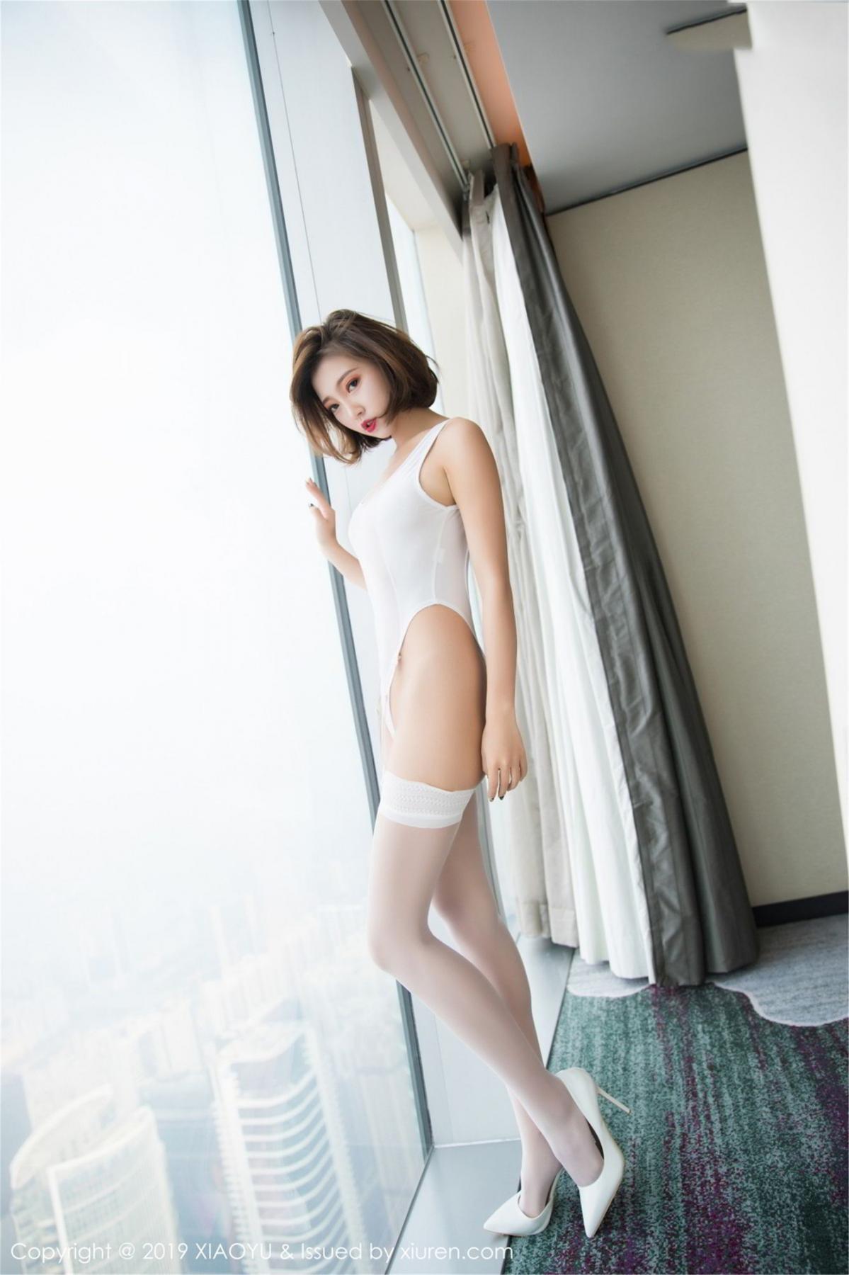 [XiaoYu] Vol.075 Feng Mu Mu 4P, Cool, Feng Mu Mu, Tall, XiaoYu
