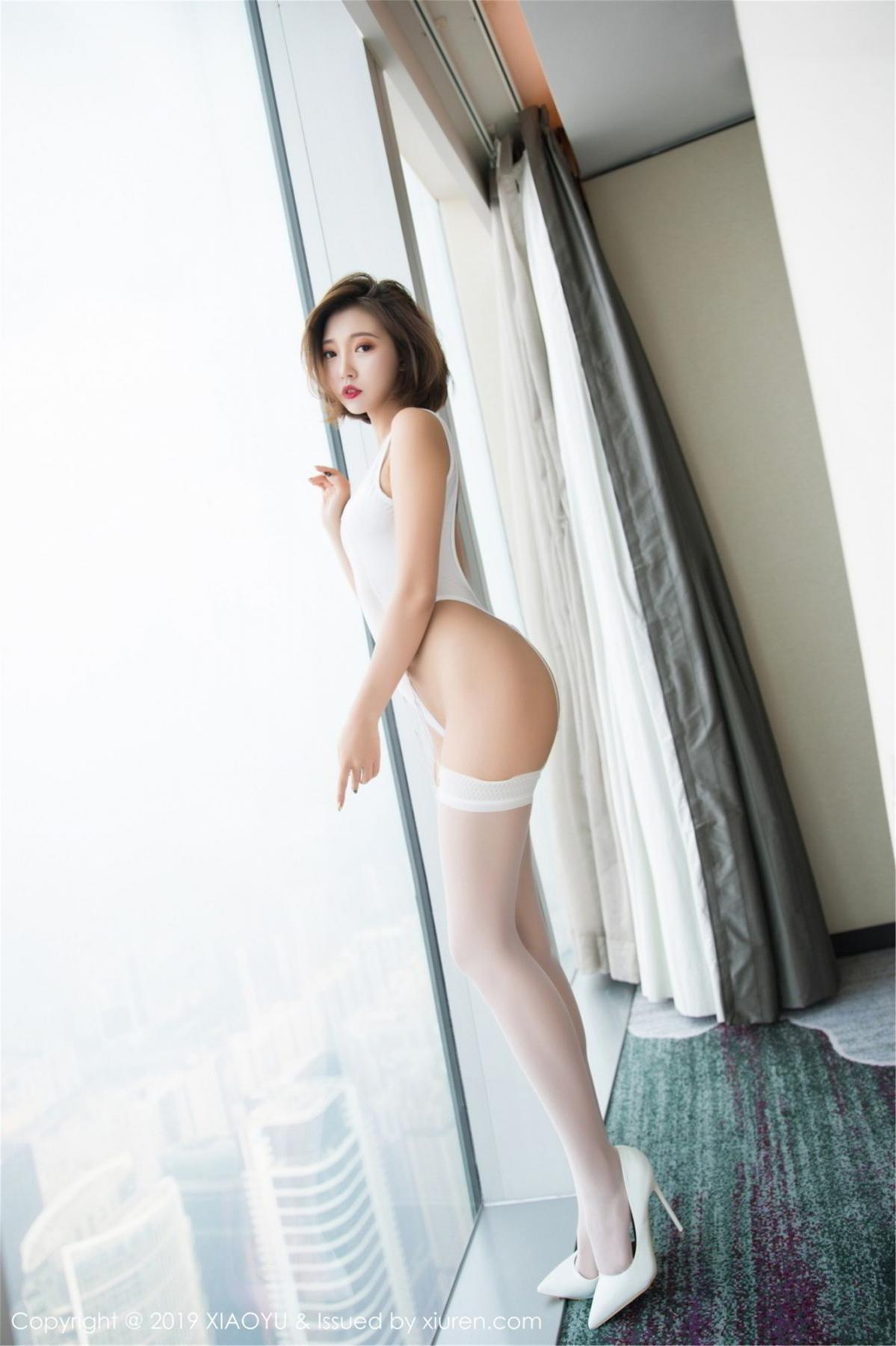 [XiaoYu] Vol.075 Feng Mu Mu 5P, Cool, Feng Mu Mu, Tall, XiaoYu