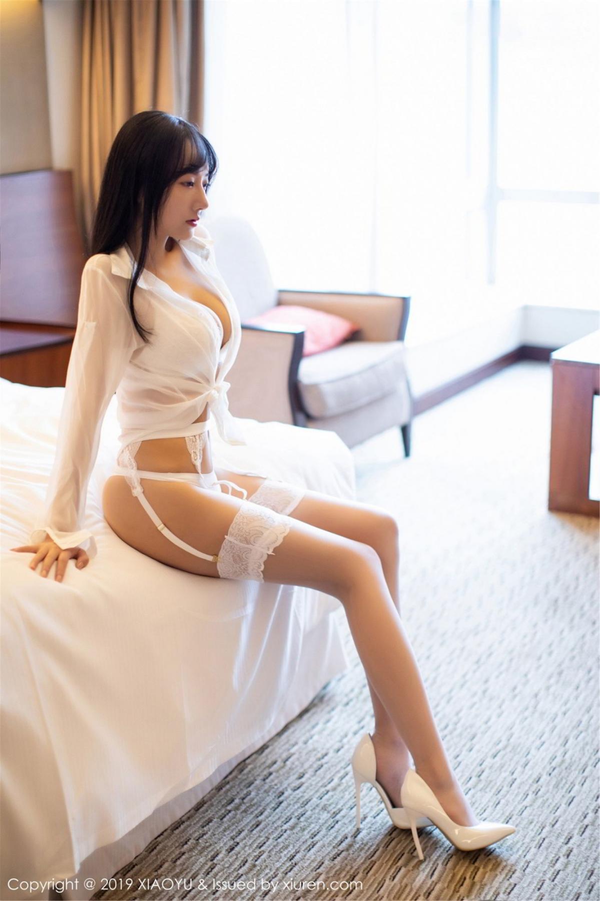 [XiaoYu] Vol.076 He Jia Ying 10P, He Jia Ying, Underwear, XiaoYu