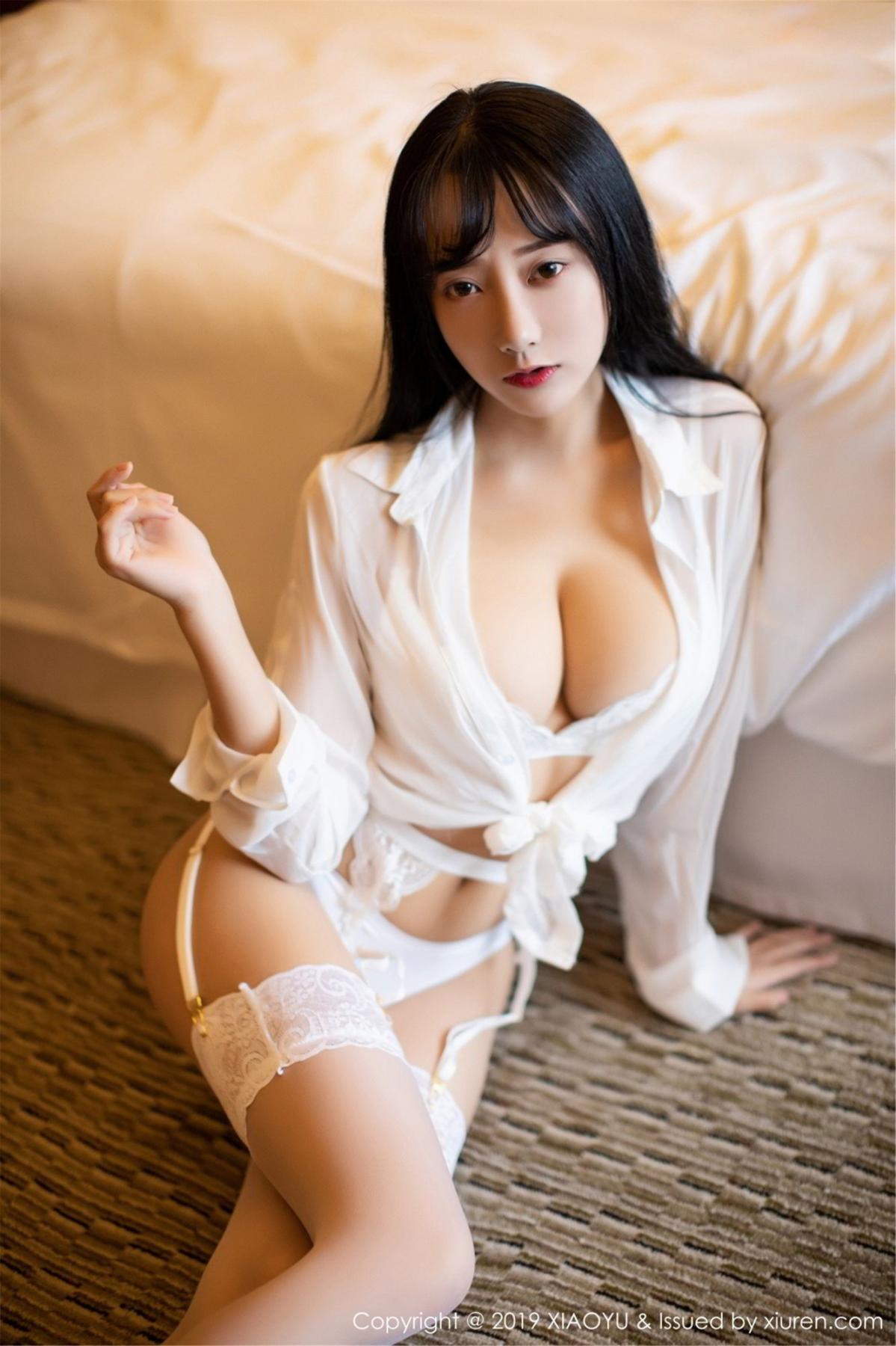 [XiaoYu] Vol.076 He Jia Ying 11P, He Jia Ying, Underwear, XiaoYu