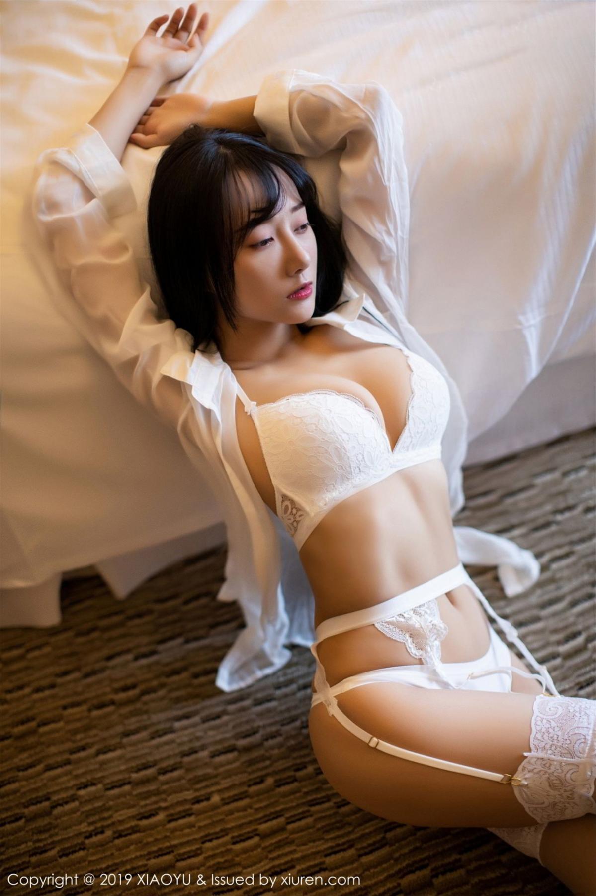 [XiaoYu] Vol.076 He Jia Ying 12P, He Jia Ying, Underwear, XiaoYu