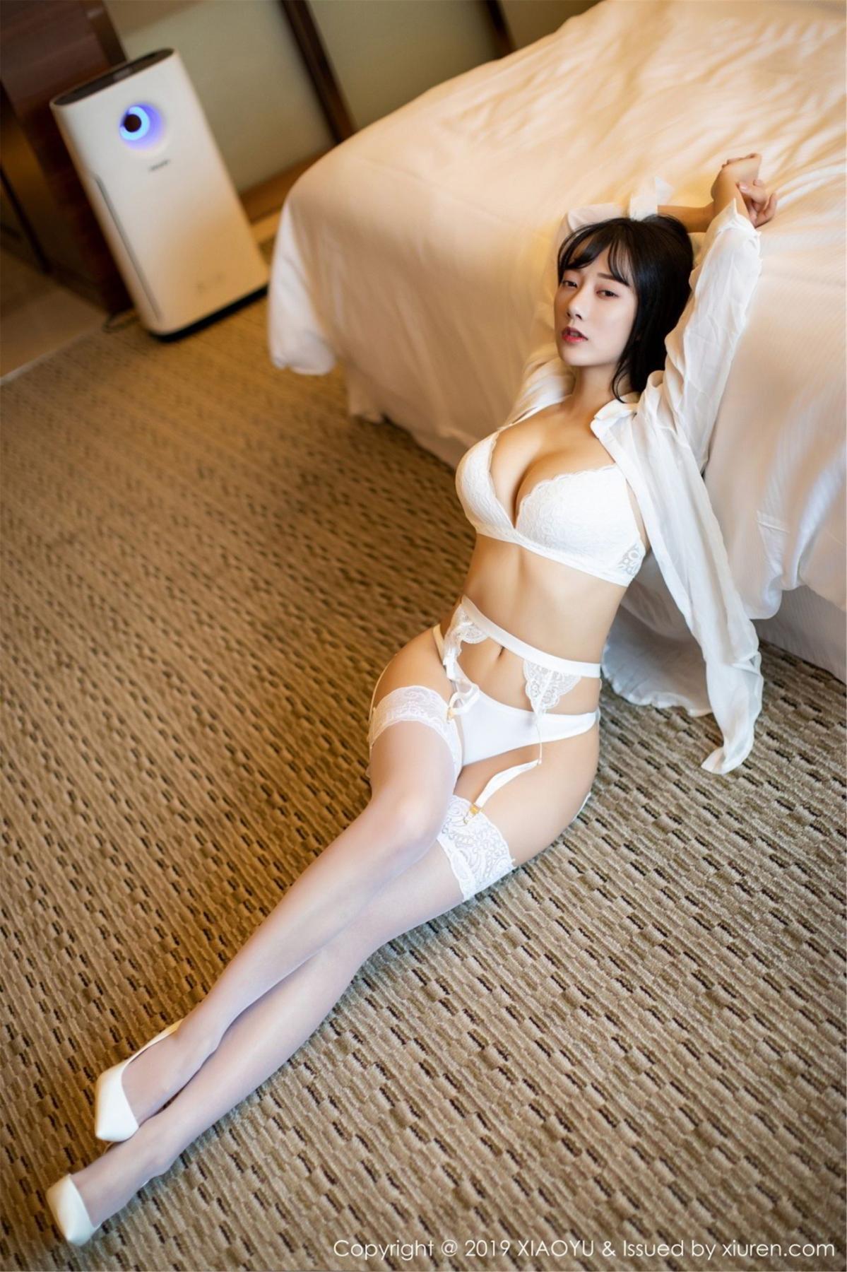 [XiaoYu] Vol.076 He Jia Ying 14P, He Jia Ying, Underwear, XiaoYu