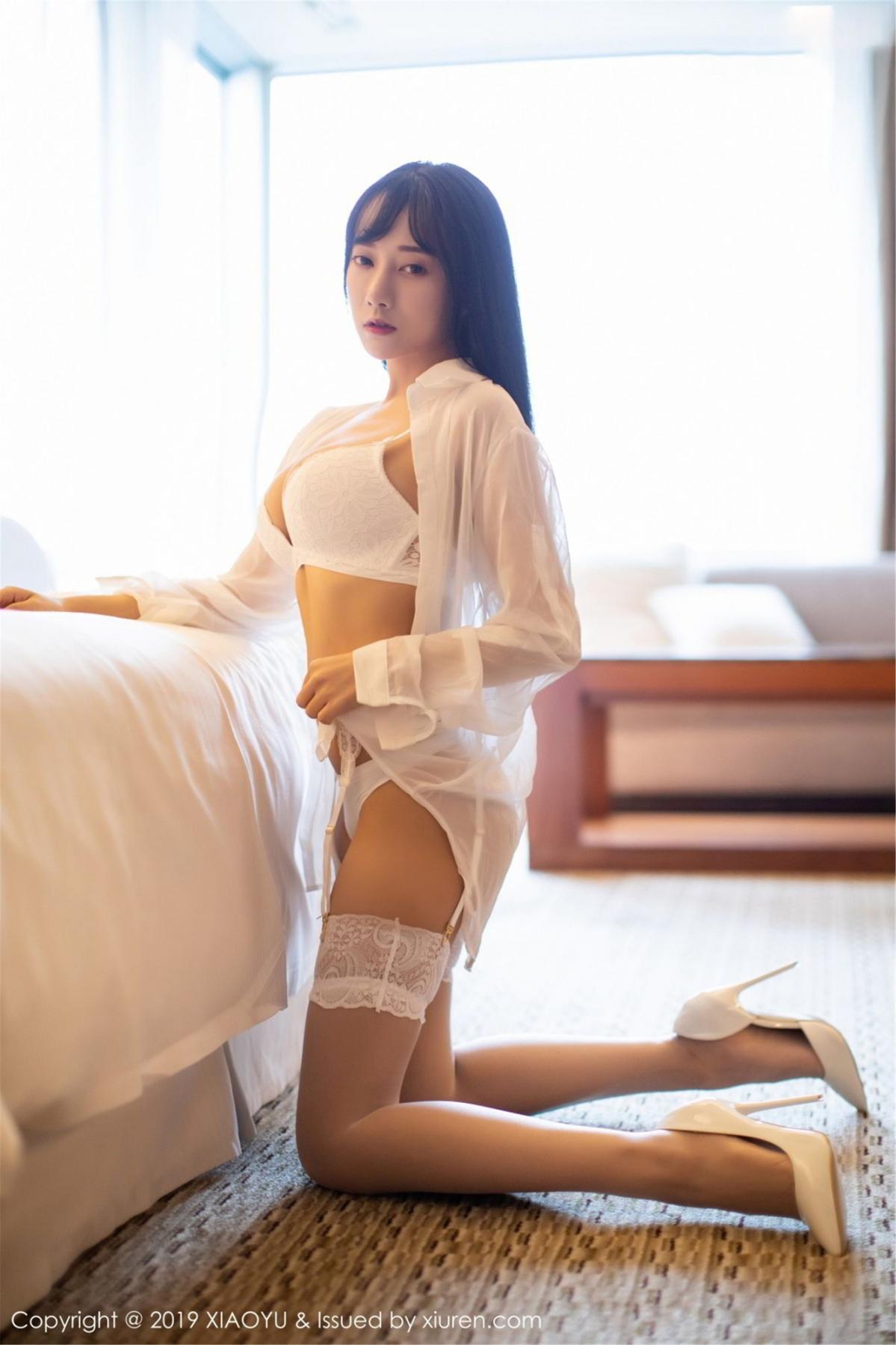 [XiaoYu] Vol.076 He Jia Ying 15P, He Jia Ying, Underwear, XiaoYu