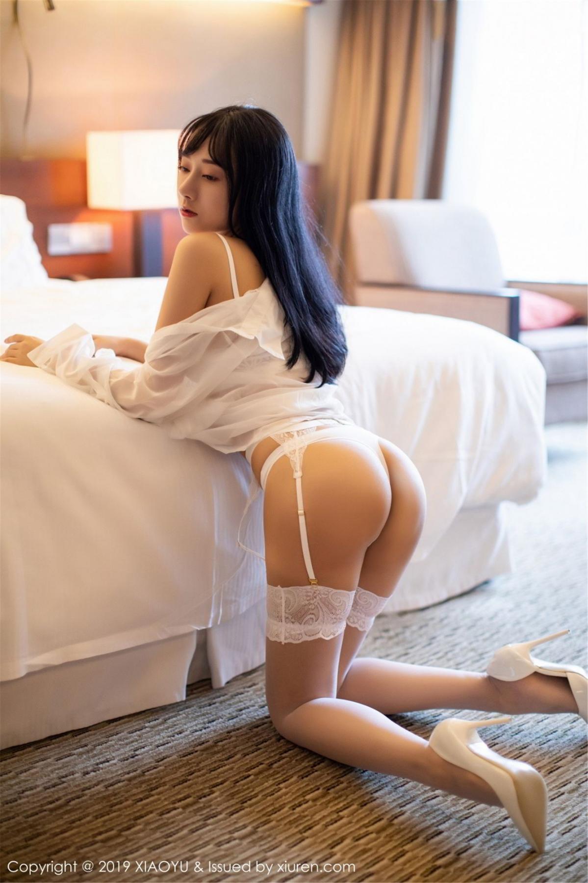 [XiaoYu] Vol.076 He Jia Ying 16P, He Jia Ying, Underwear, XiaoYu