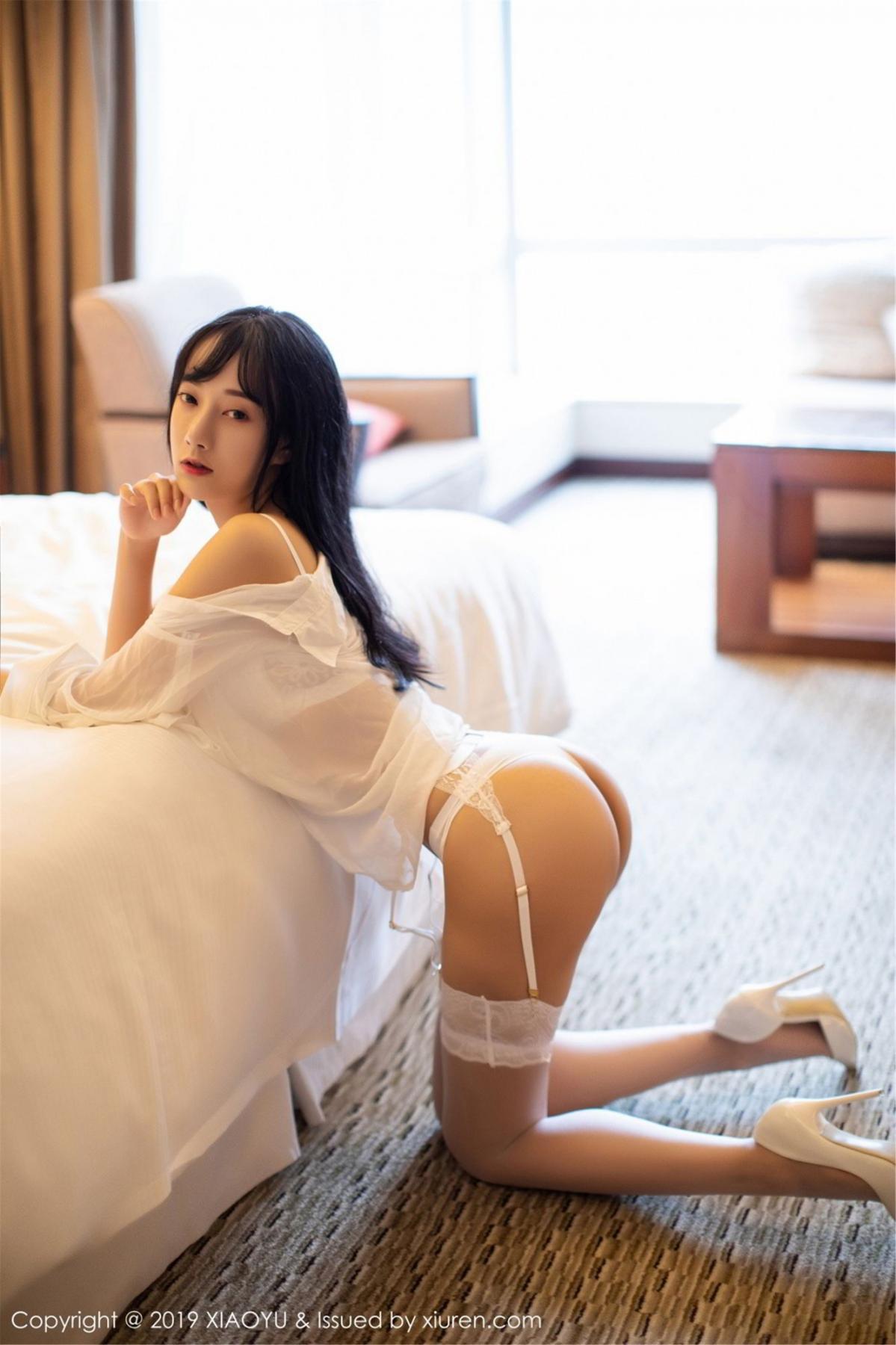 [XiaoYu] Vol.076 He Jia Ying 18P, He Jia Ying, Underwear, XiaoYu