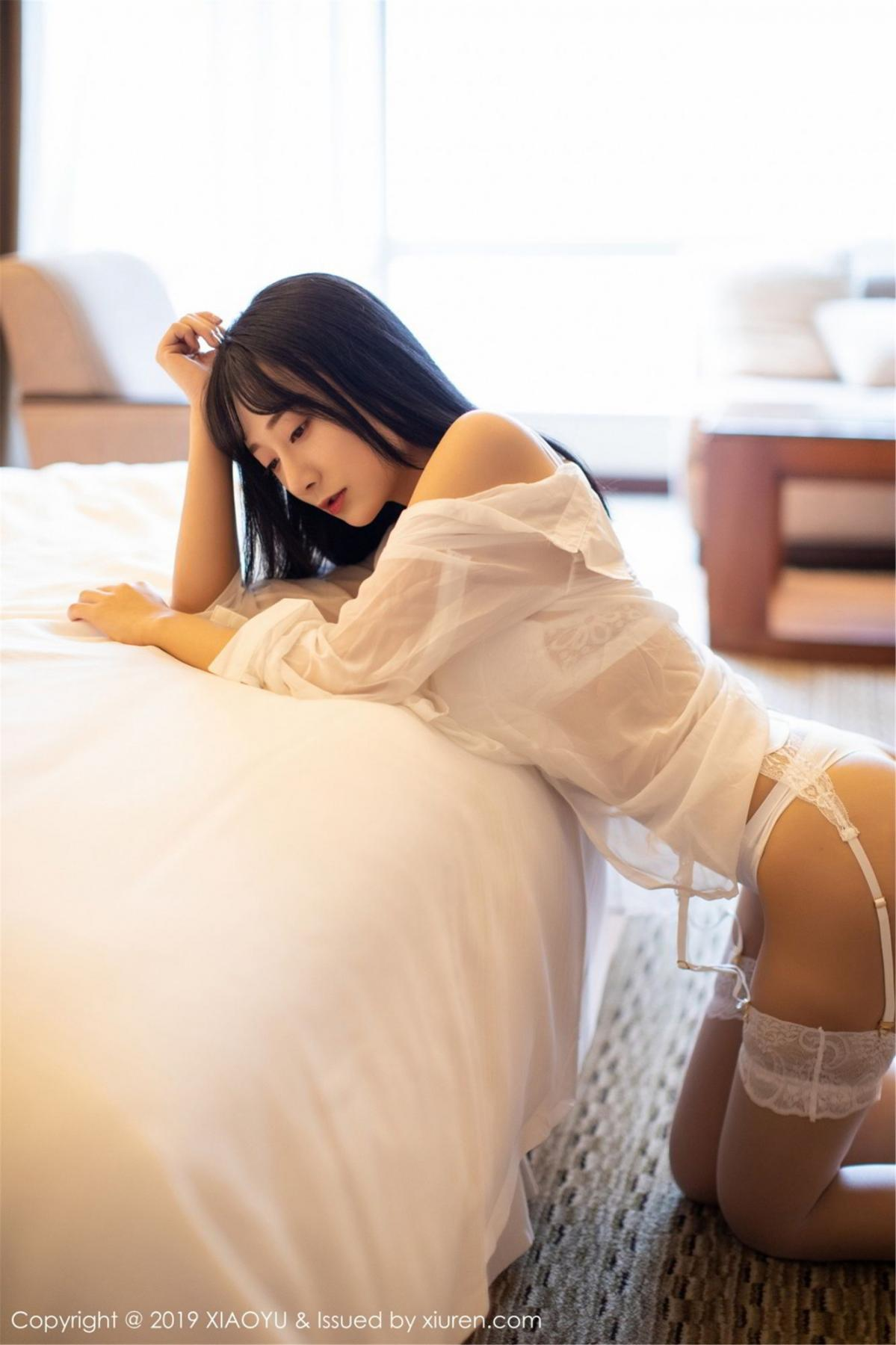 [XiaoYu] Vol.076 He Jia Ying 19P, He Jia Ying, Underwear, XiaoYu