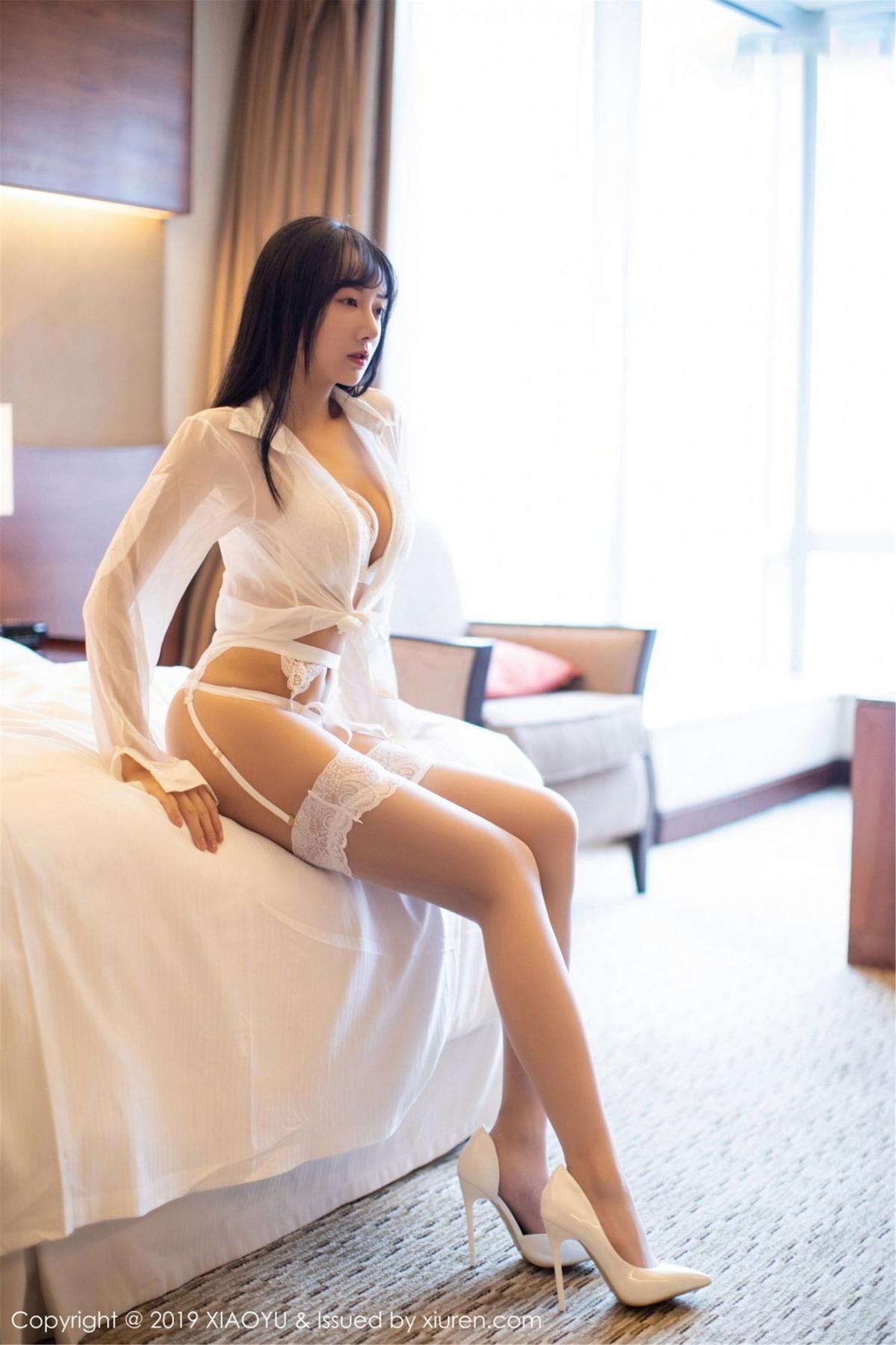[XiaoYu] Vol.076 He Jia Ying 1P, He Jia Ying, Underwear, XiaoYu