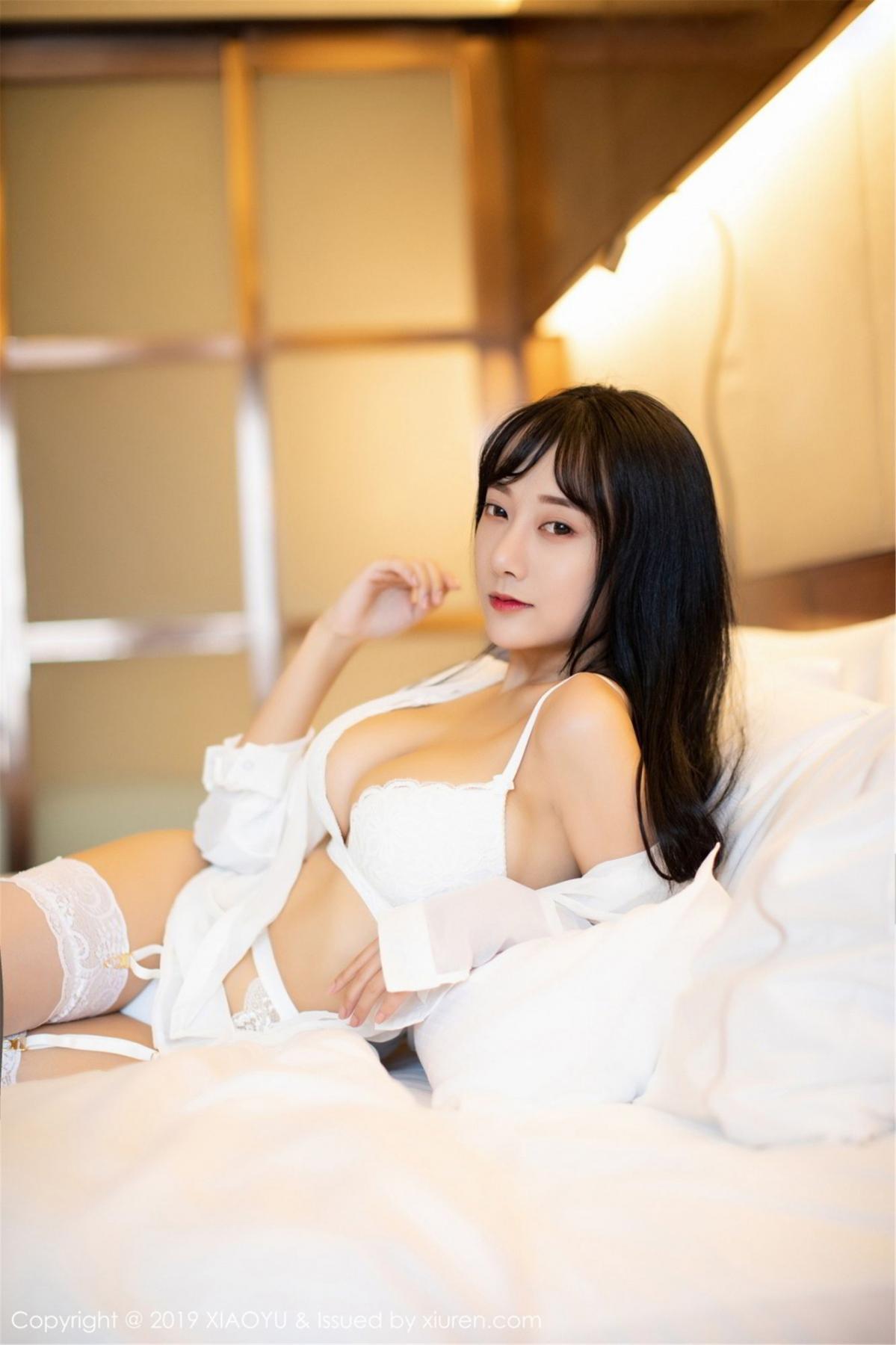 [XiaoYu] Vol.076 He Jia Ying 22P, He Jia Ying, Underwear, XiaoYu