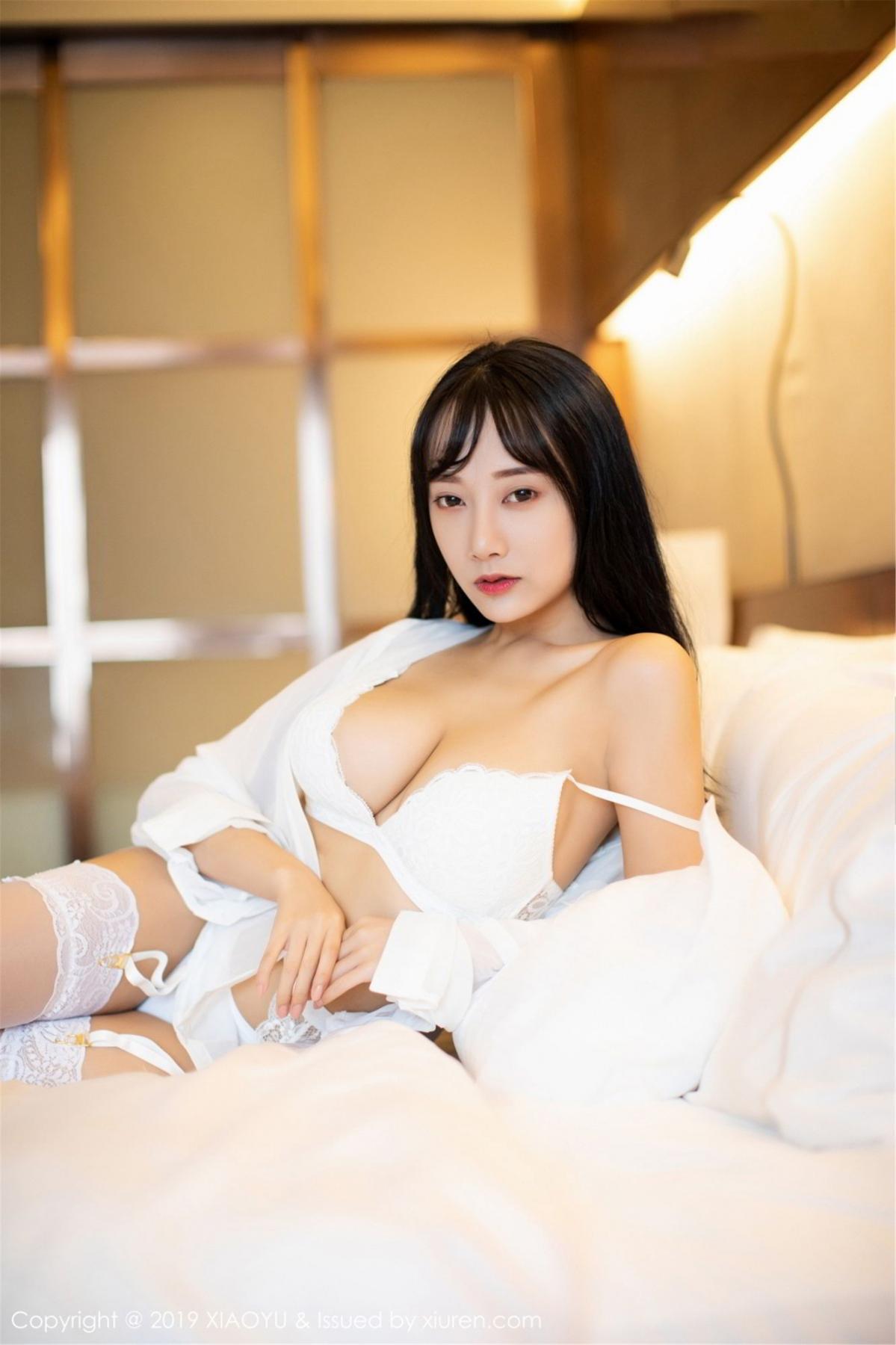 [XiaoYu] Vol.076 He Jia Ying 23P, He Jia Ying, Underwear, XiaoYu