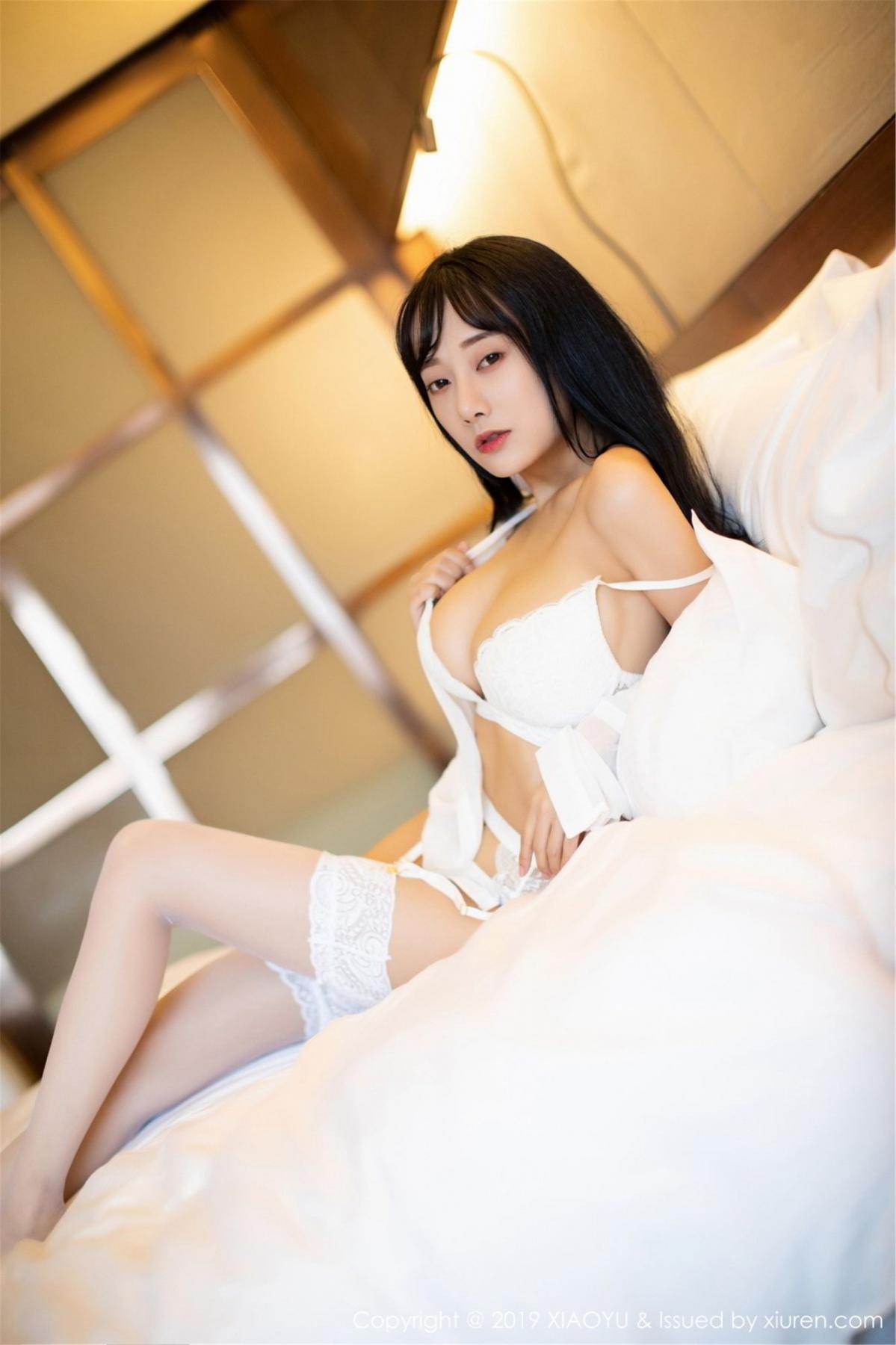 [XiaoYu] Vol.076 He Jia Ying 24P, He Jia Ying, Underwear, XiaoYu