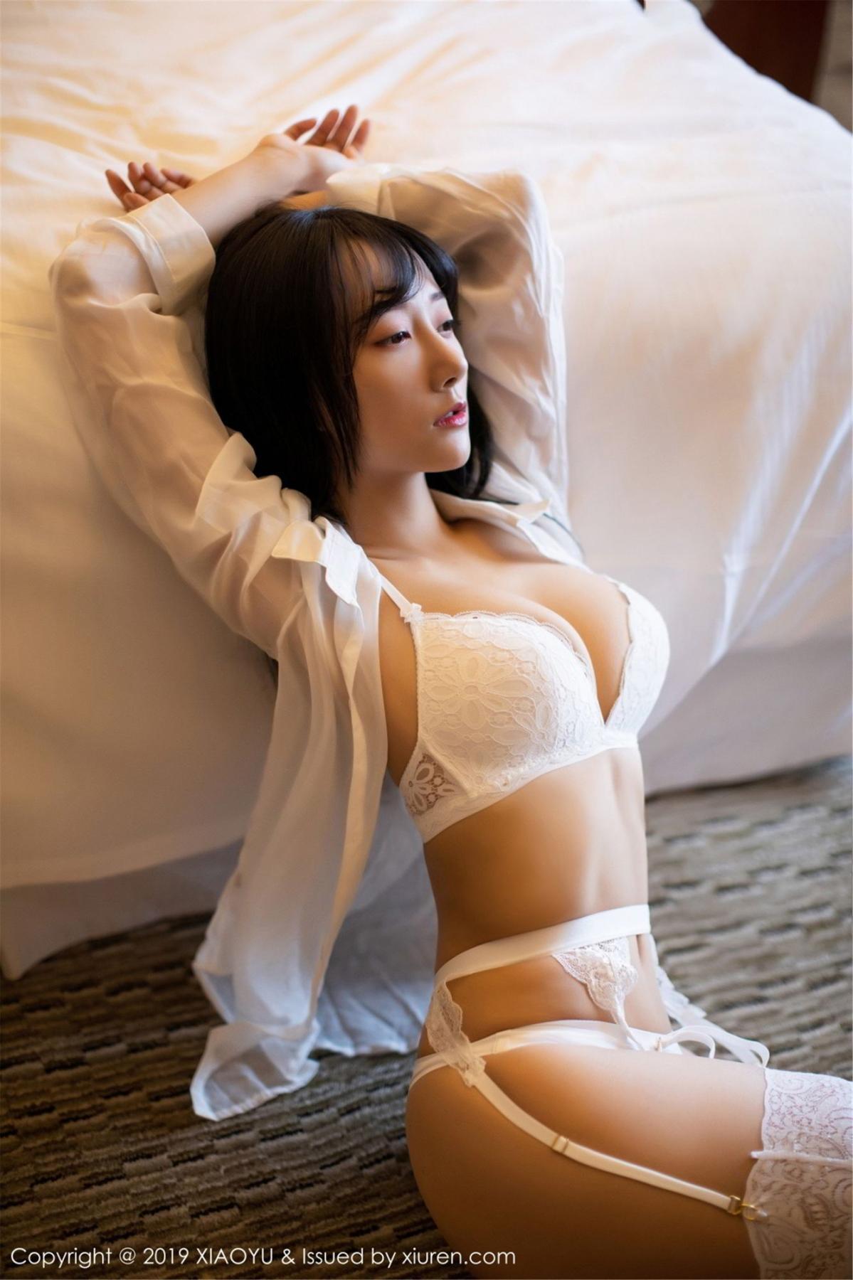 [XiaoYu] Vol.076 He Jia Ying 2P, He Jia Ying, Underwear, XiaoYu