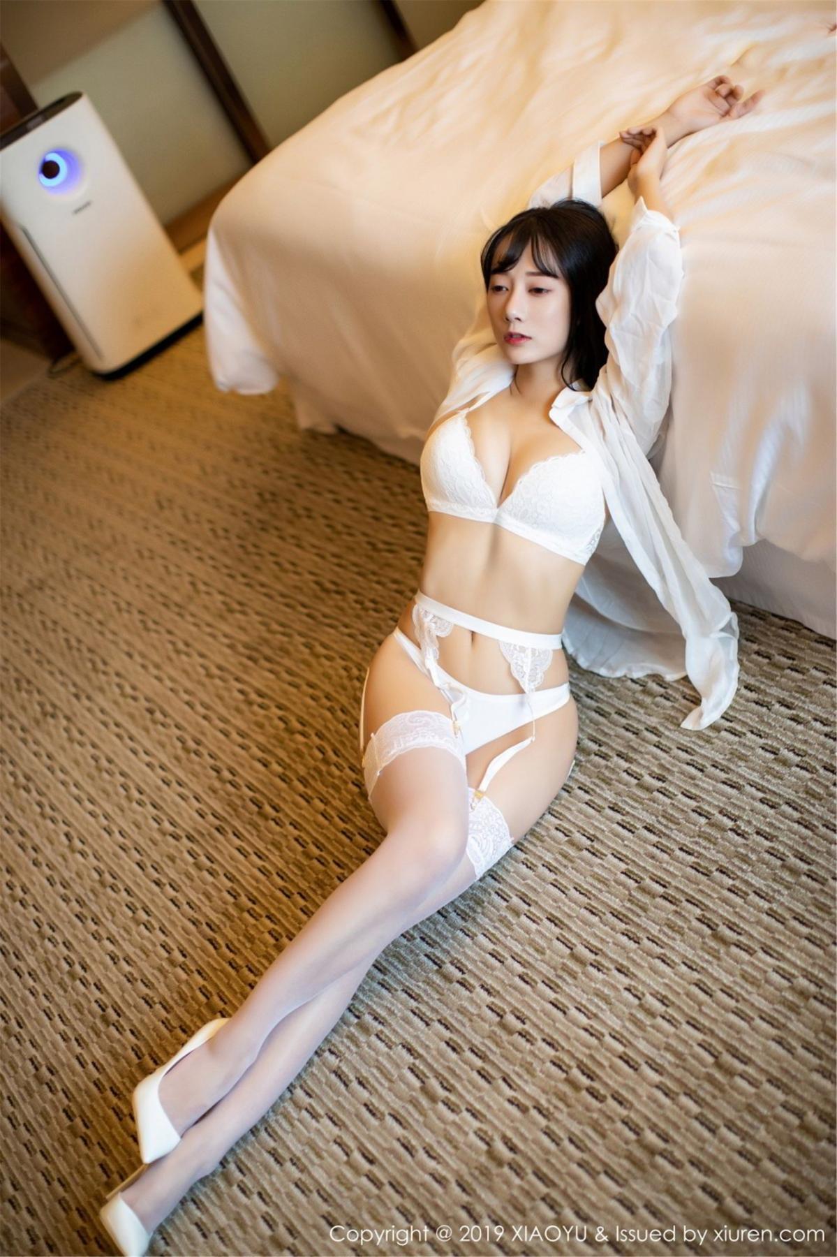 [XiaoYu] Vol.076 He Jia Ying 3P, He Jia Ying, Underwear, XiaoYu