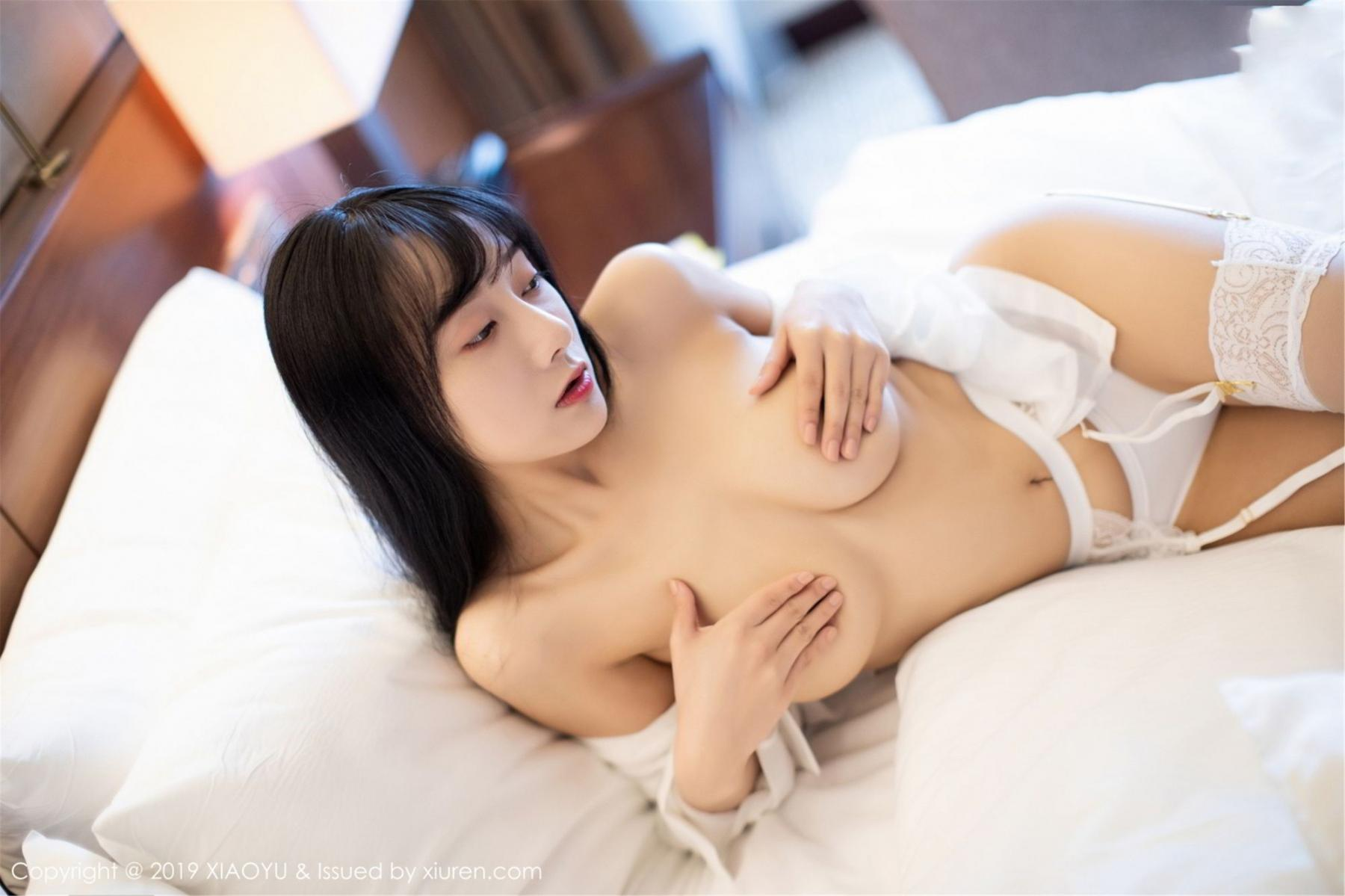 [XiaoYu] Vol.076 He Jia Ying 43P, He Jia Ying, Underwear, XiaoYu