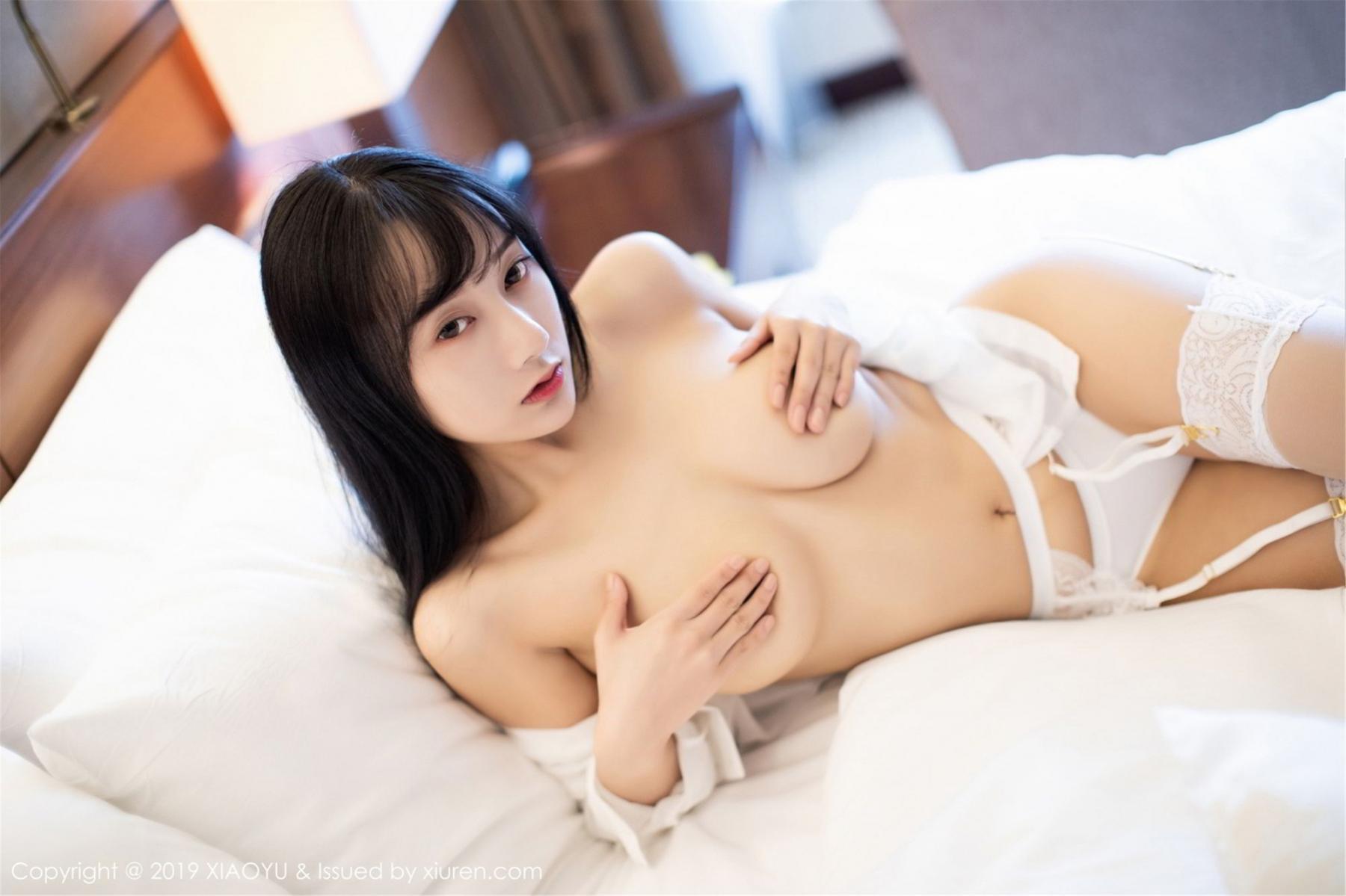 [XiaoYu] Vol.076 He Jia Ying 44P, He Jia Ying, Underwear, XiaoYu