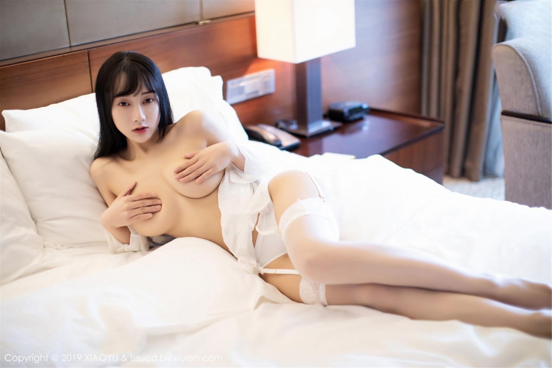 [XiaoYu] Vol.076 He Jia Ying 46P, He Jia Ying, Underwear, XiaoYu