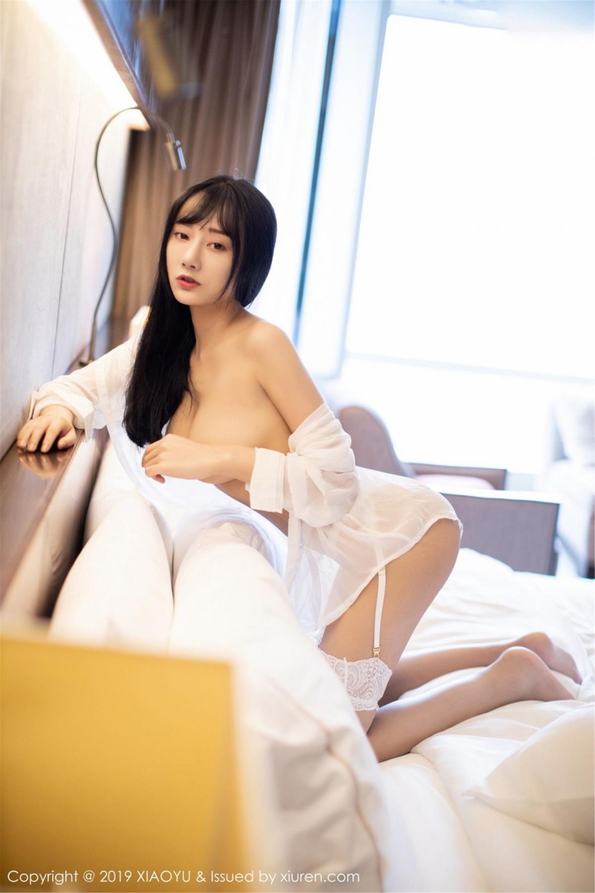 [XiaoYu] Vol.076 He Jia Ying 59P, He Jia Ying, Underwear, XiaoYu