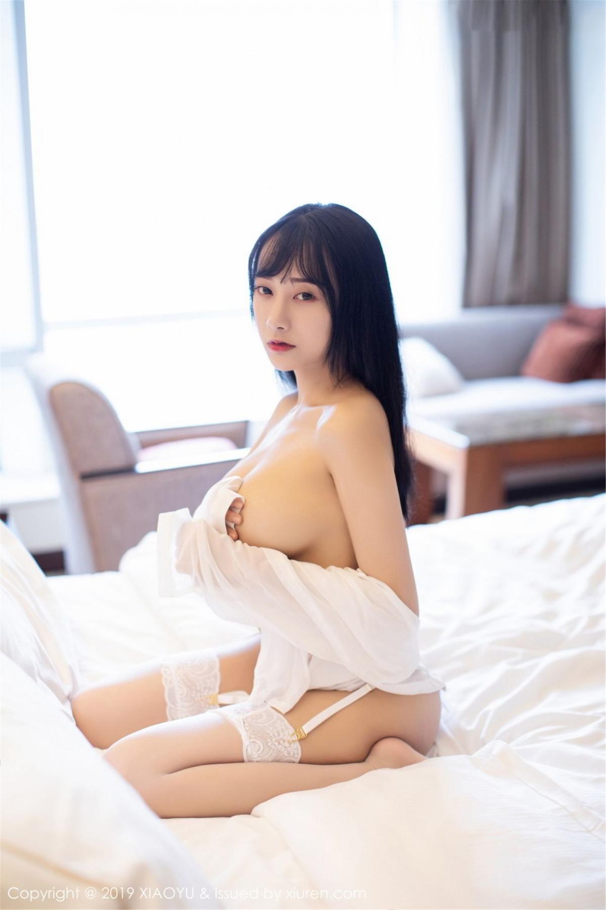 [XiaoYu] Vol.076 He Jia Ying 66P, He Jia Ying, Underwear, XiaoYu
