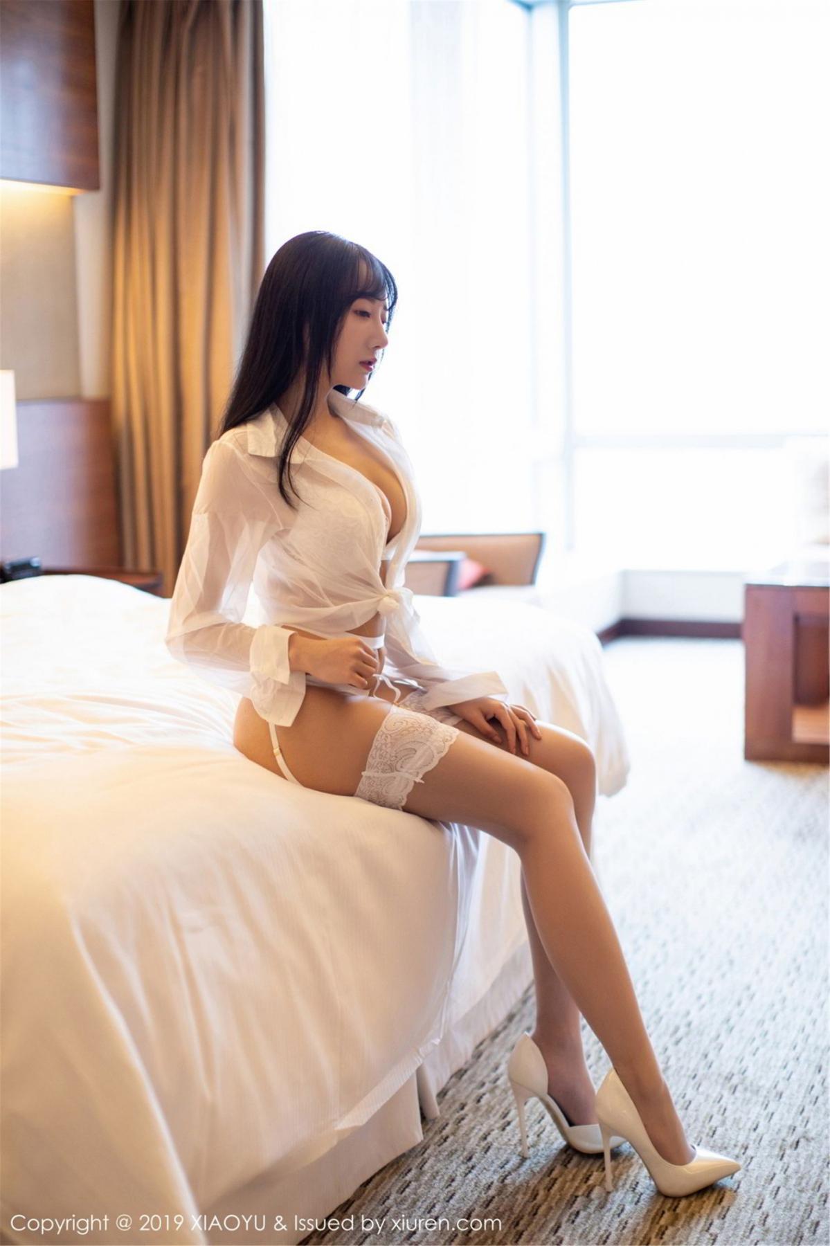 [XiaoYu] Vol.076 He Jia Ying 6P, He Jia Ying, Underwear, XiaoYu
