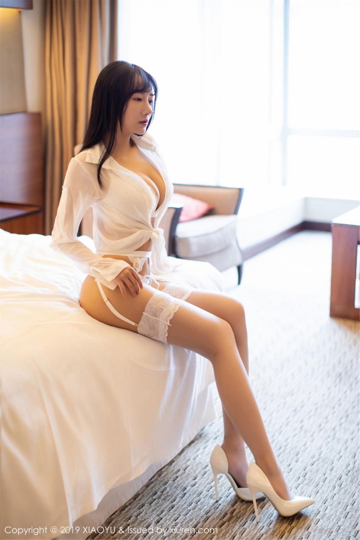 [XiaoYu] Vol.076 He Jia Ying 7P, He Jia Ying, Underwear, XiaoYu