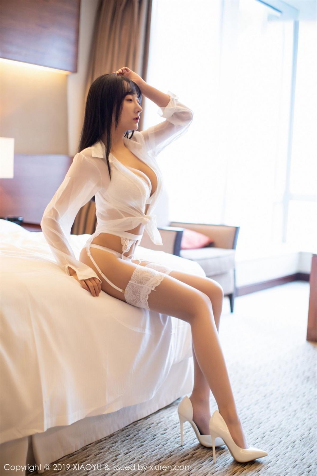 [XiaoYu] Vol.076 He Jia Ying 8P, He Jia Ying, Underwear, XiaoYu