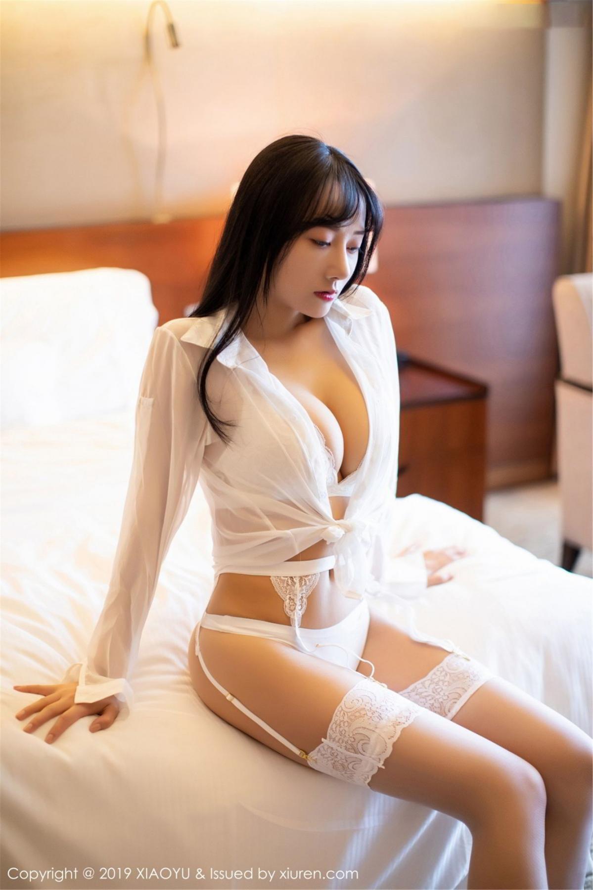 [XiaoYu] Vol.076 He Jia Ying 9P, He Jia Ying, Underwear, XiaoYu