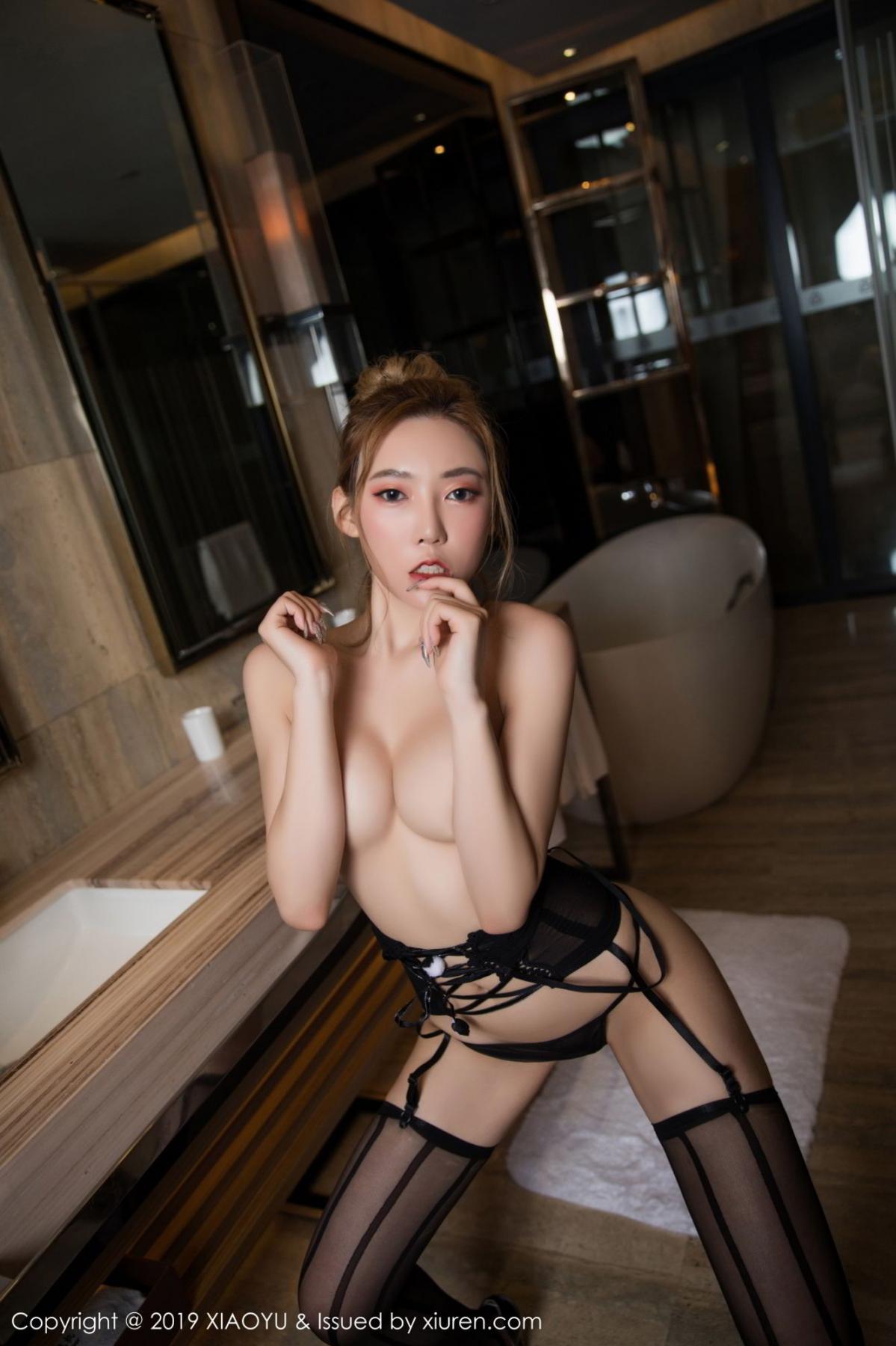 [XiaoYu] Vol.078 Meng Han Yao 18P, Big Booty, Black Silk, Meng Han Yao, XiaoYu