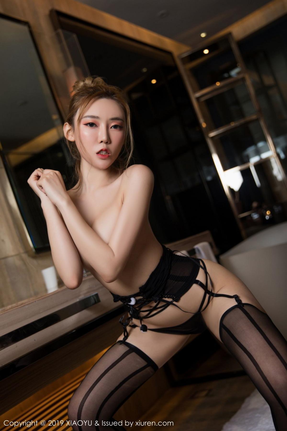 [XiaoYu] Vol.078 Meng Han Yao 21P, Big Booty, Black Silk, Meng Han Yao, XiaoYu