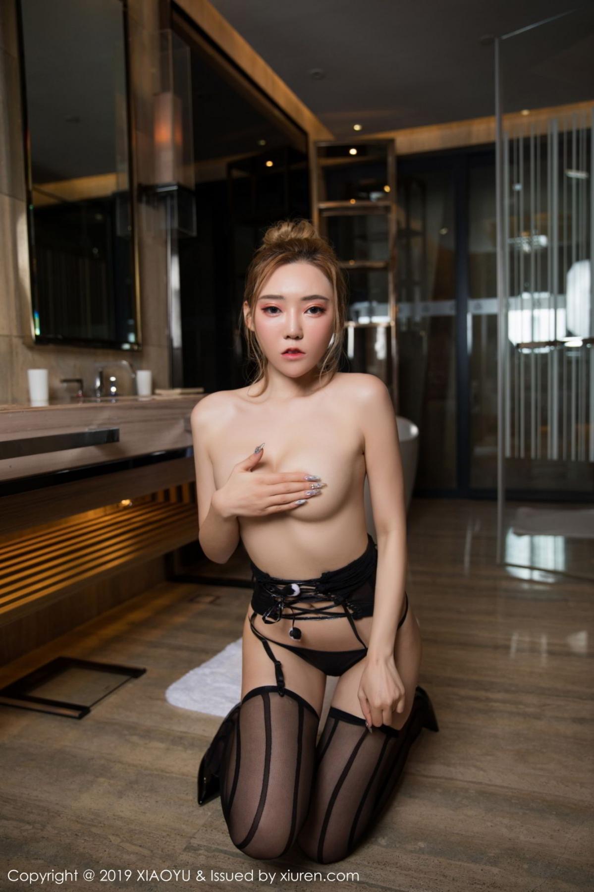 [XiaoYu] Vol.078 Meng Han Yao 27P, Big Booty, Black Silk, Meng Han Yao, XiaoYu