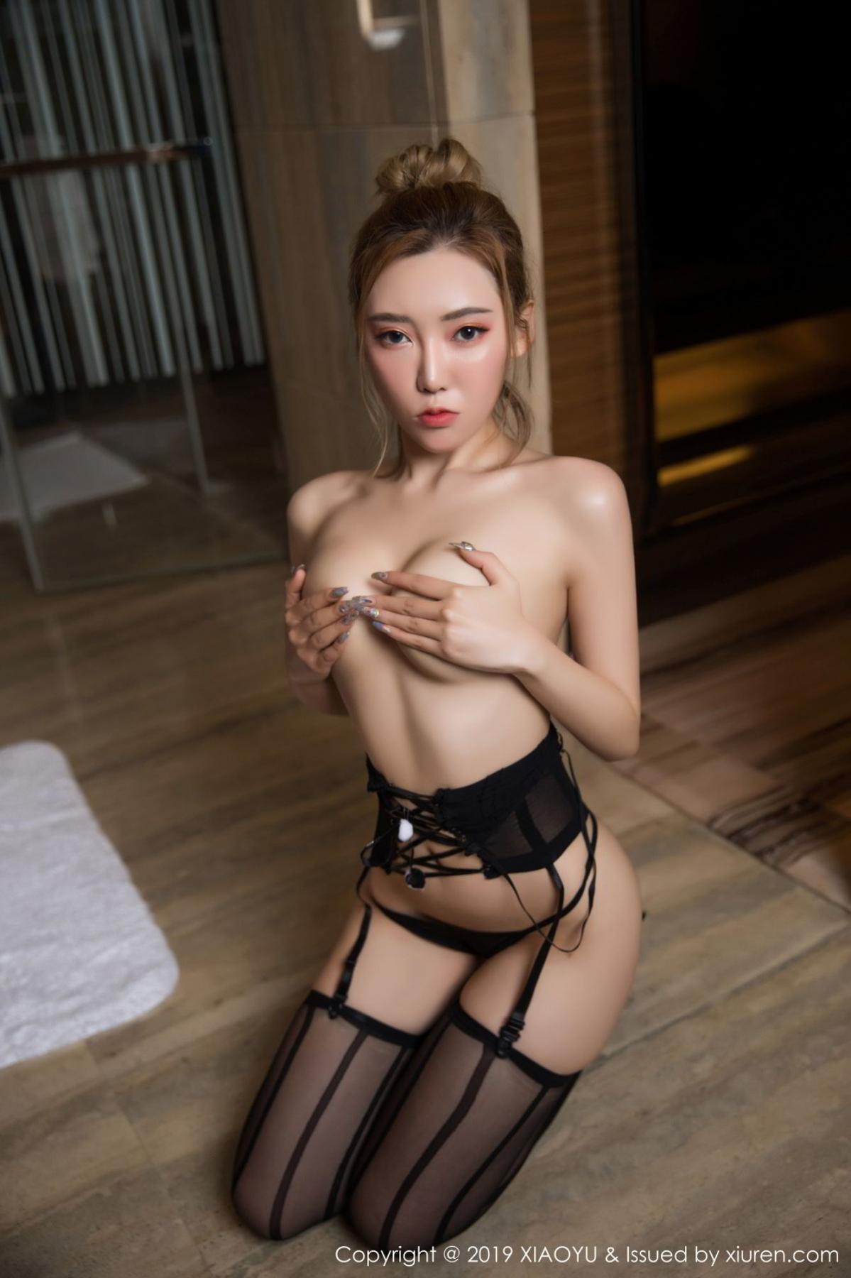 [XiaoYu] Vol.078 Meng Han Yao 37P, Big Booty, Black Silk, Meng Han Yao, XiaoYu