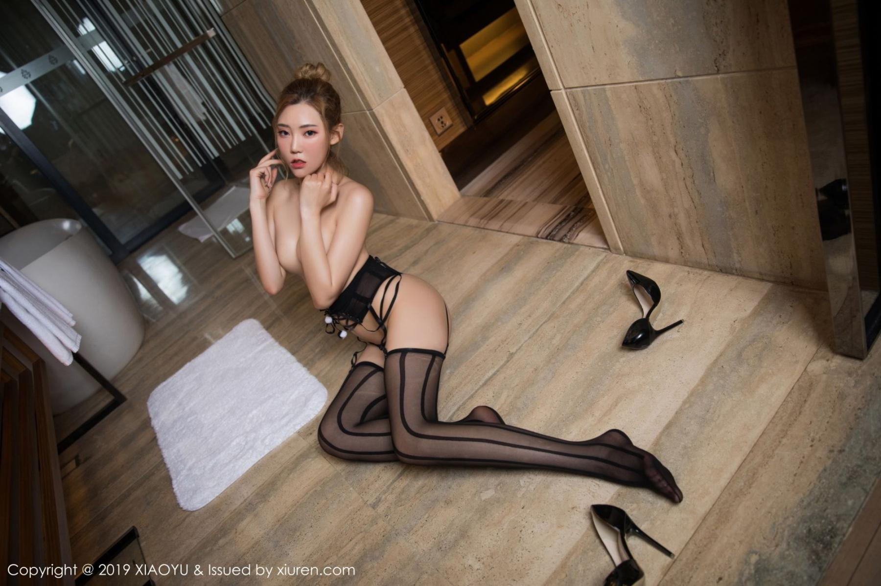 [XiaoYu] Vol.078 Meng Han Yao 45P, Big Booty, Black Silk, Meng Han Yao, XiaoYu