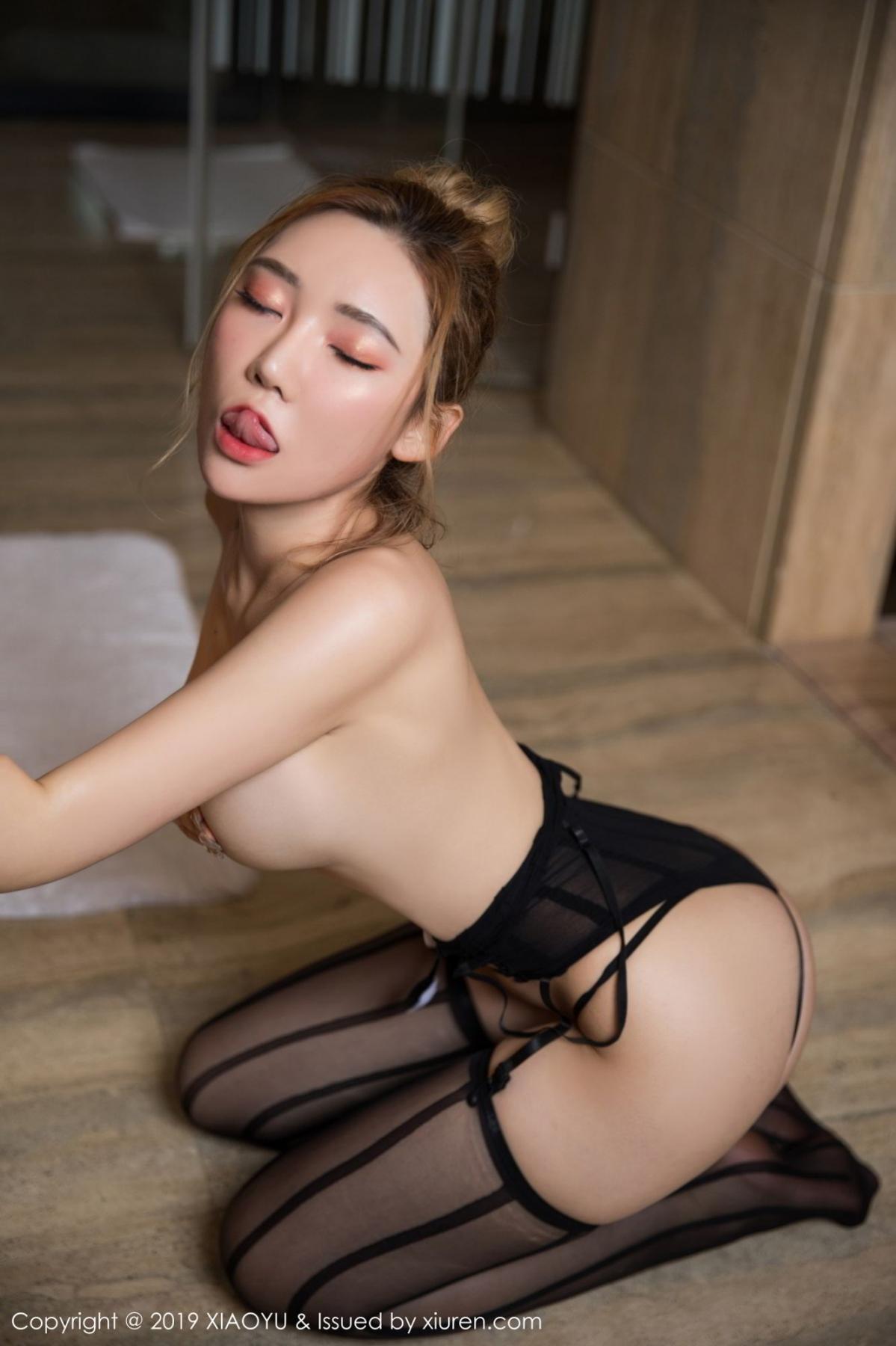 [XiaoYu] Vol.078 Meng Han Yao 49P, Big Booty, Black Silk, Meng Han Yao, XiaoYu