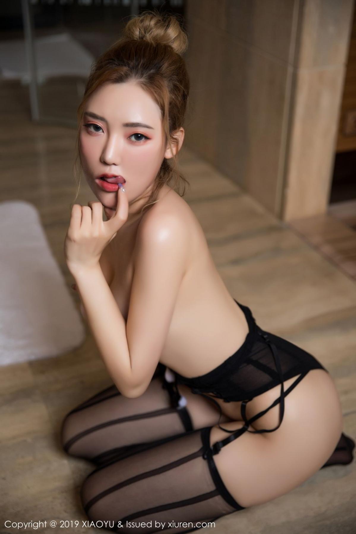 [XiaoYu] Vol.078 Meng Han Yao 50P, Big Booty, Black Silk, Meng Han Yao, XiaoYu
